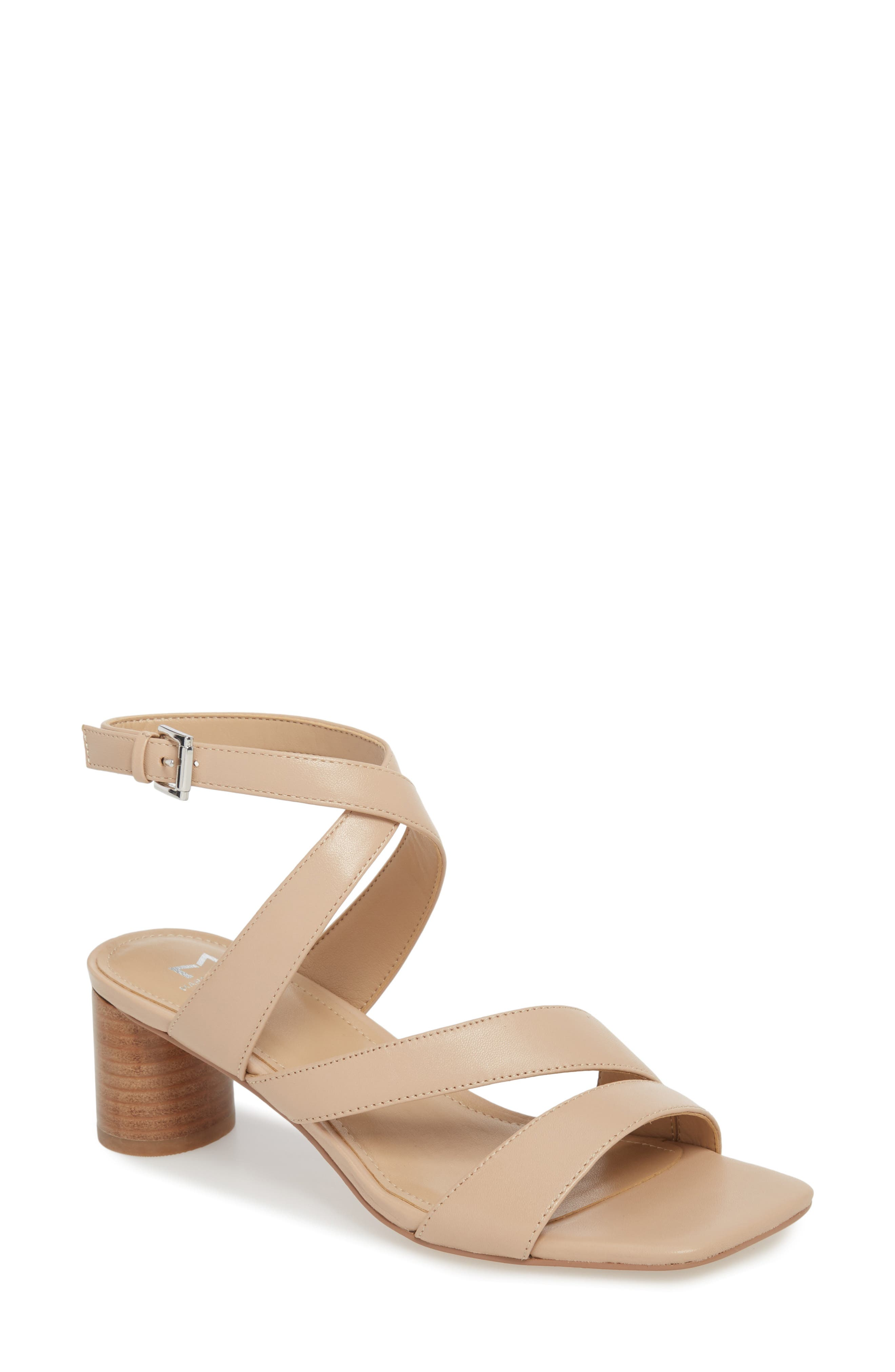 Marc Fischer LTD Idana Strappy Sandal,                         Main,                         color, Lite Latte Leather