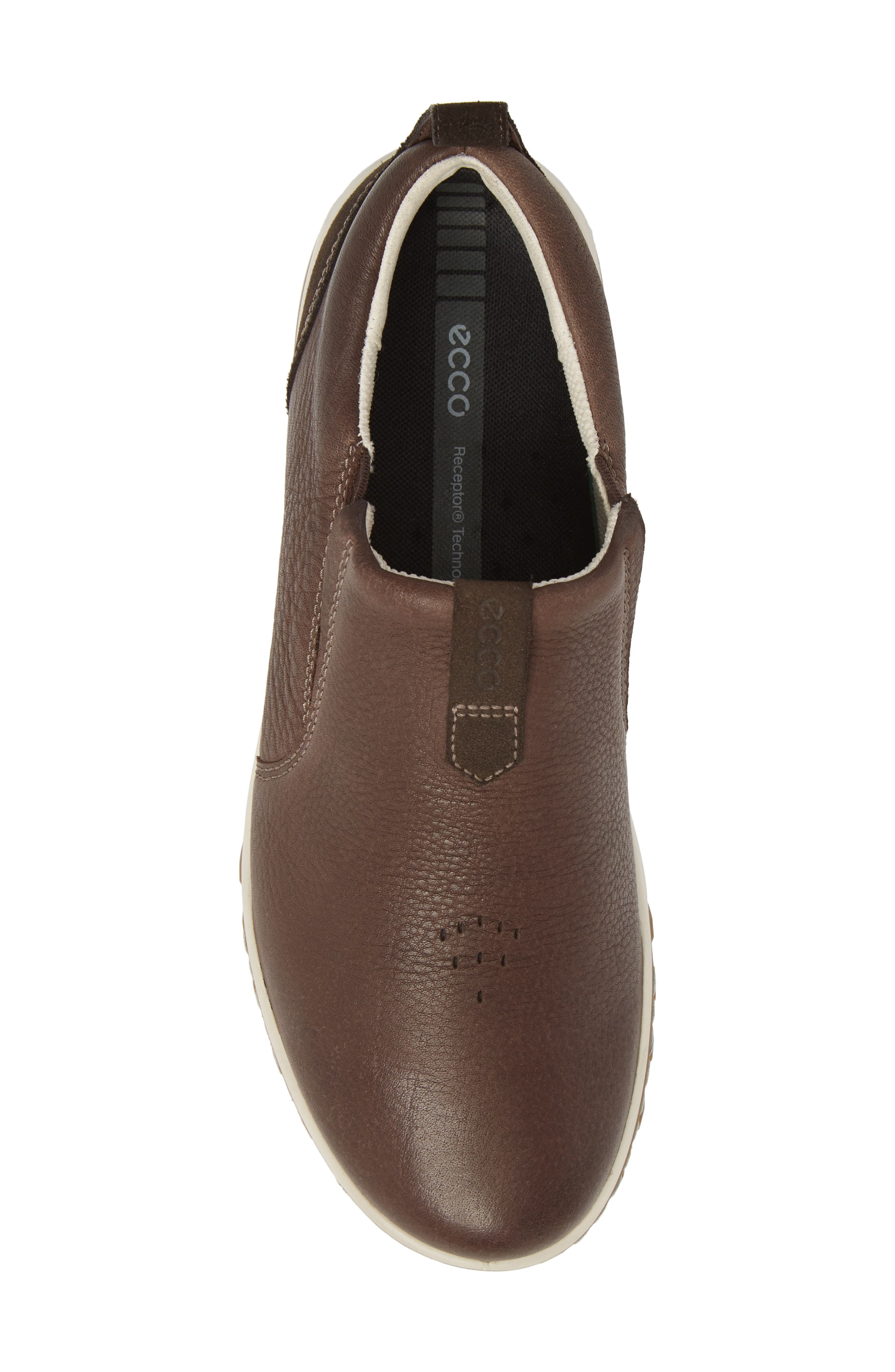Urban Lifestyle Slip-On Sneaker,                             Alternate thumbnail 5, color,                             Coffee Leather
