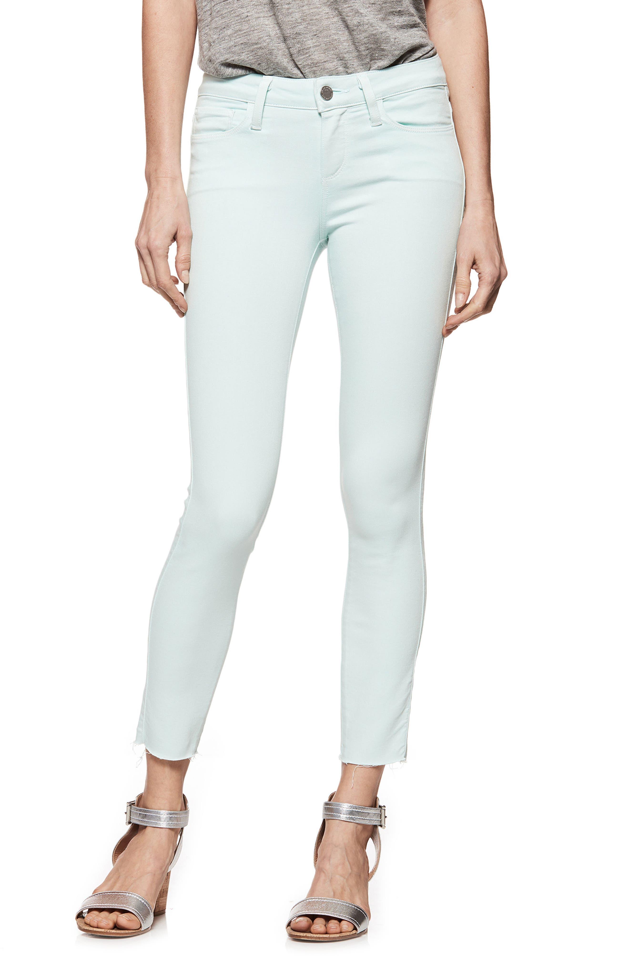 Transcend - Verdugo Crop Skinny Jeans,                         Main,                         color, Vintage Sea Breeze