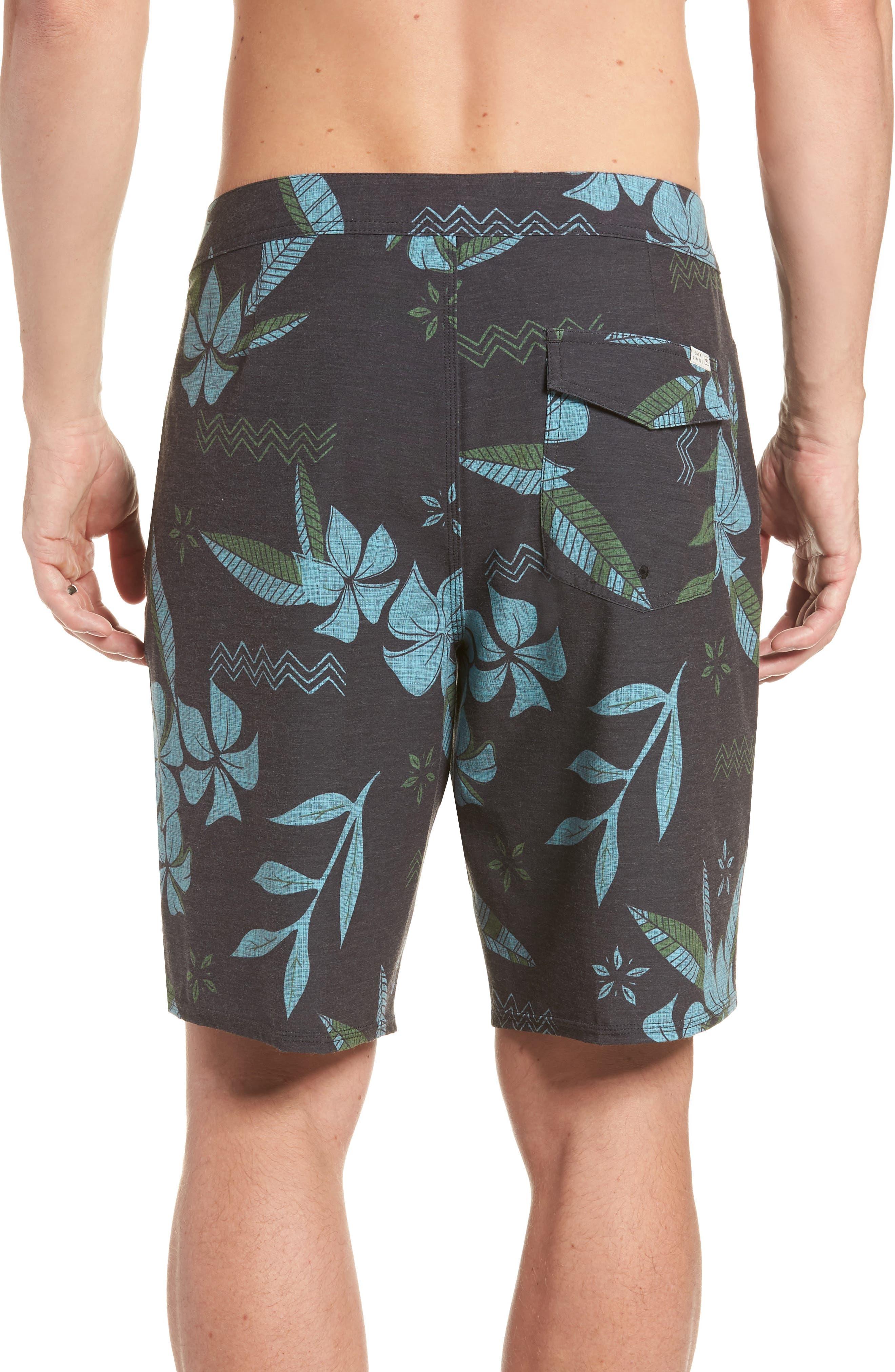 Maui Board Shorts,                             Alternate thumbnail 2, color,                             Black