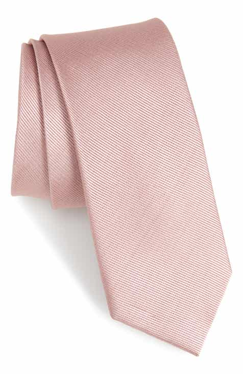02d5efe2741b The Tie Bar Solid Silk Tie