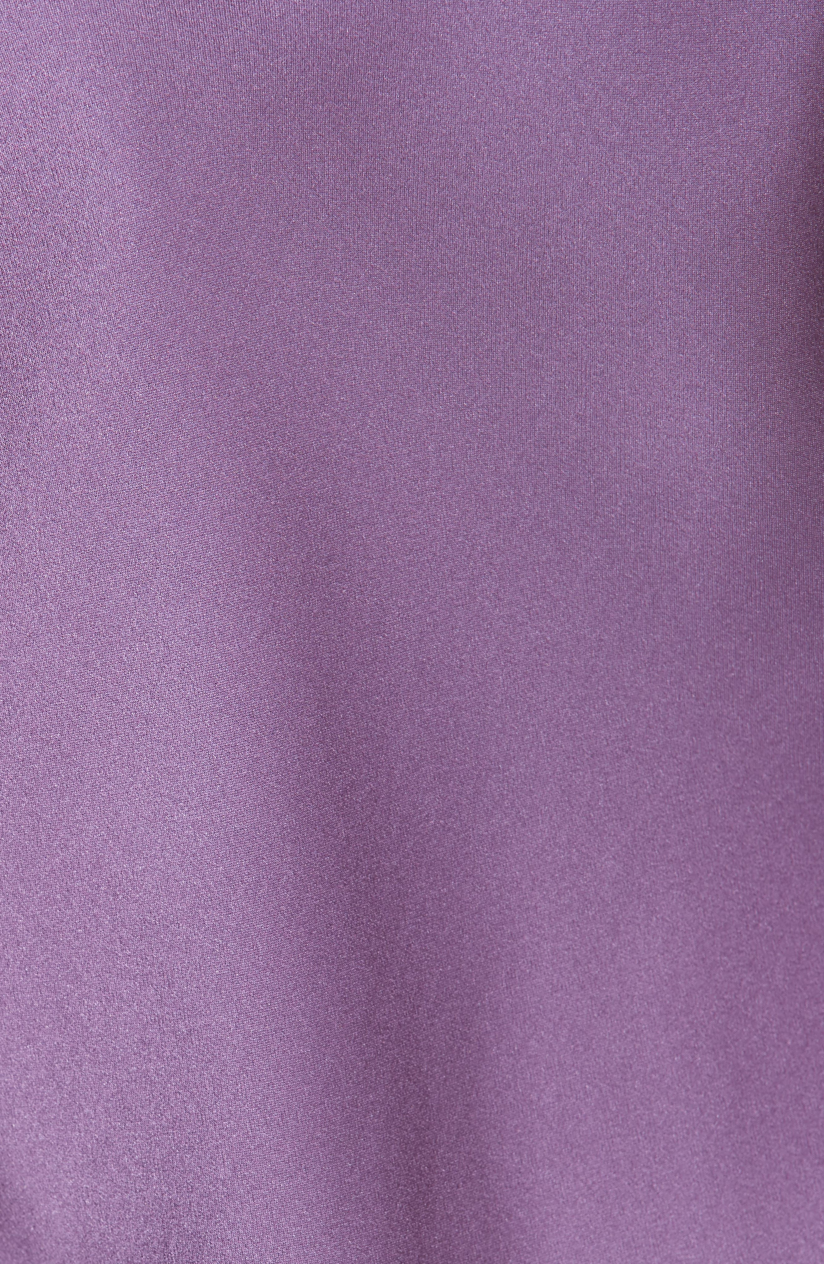 Silk Camisole Gown,                             Alternate thumbnail 5, color,                             Lilac