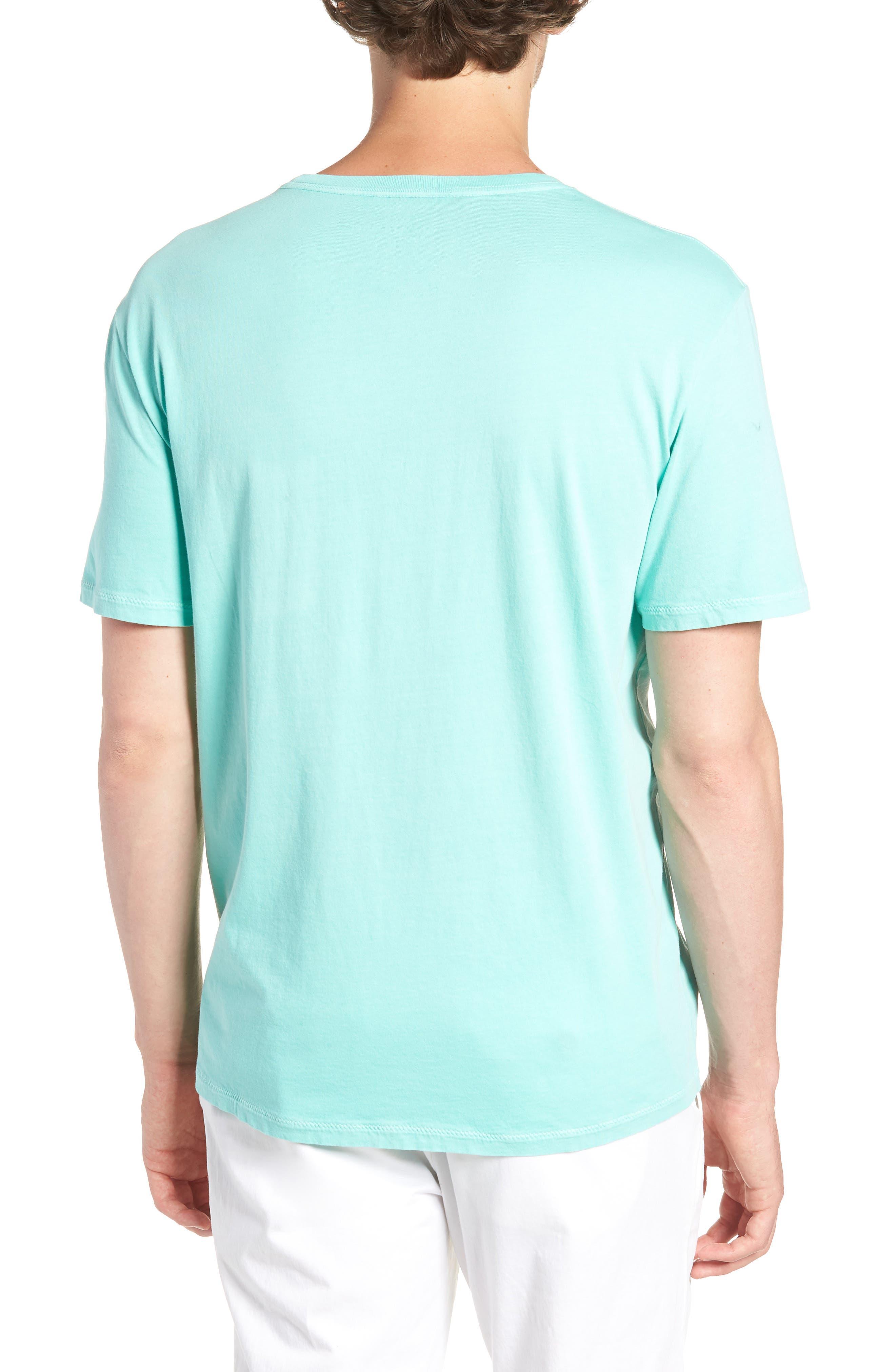 Dockside Regular Fit Crewneck T-Shirt,                             Alternate thumbnail 2, color,                             Capri Blue