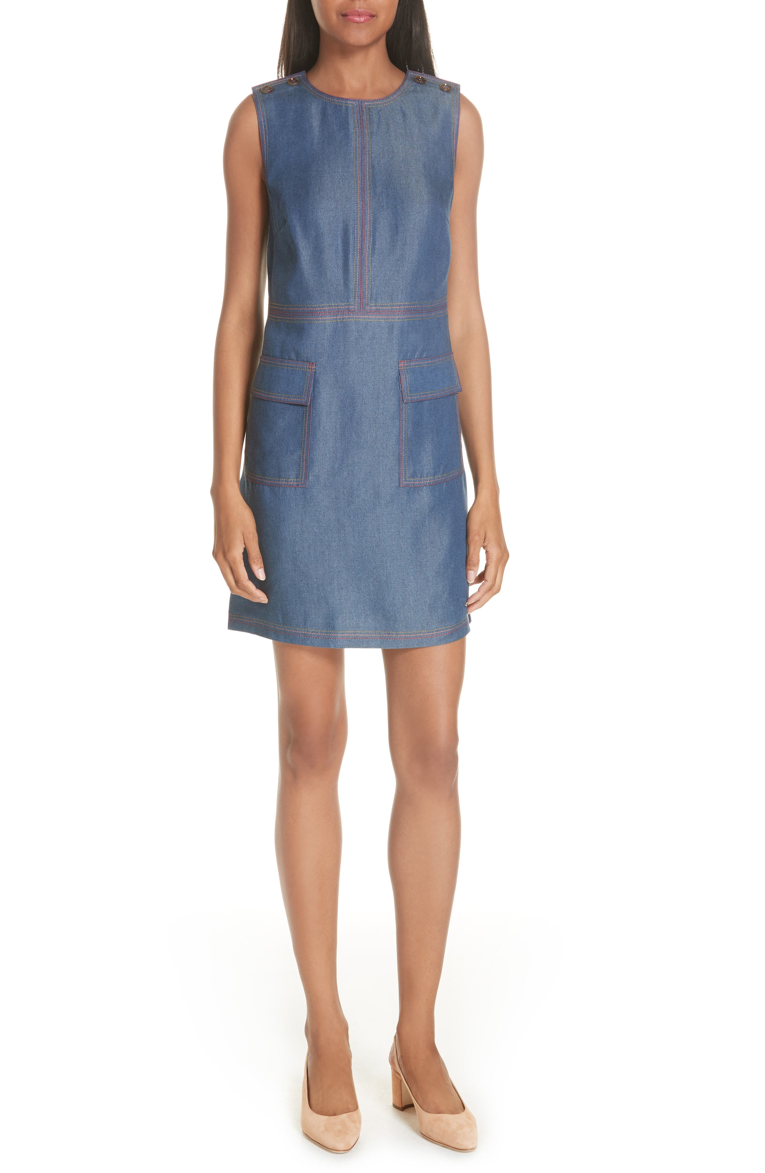 COLOUR BY NUMBERS ODIE SHIFT DRESS
