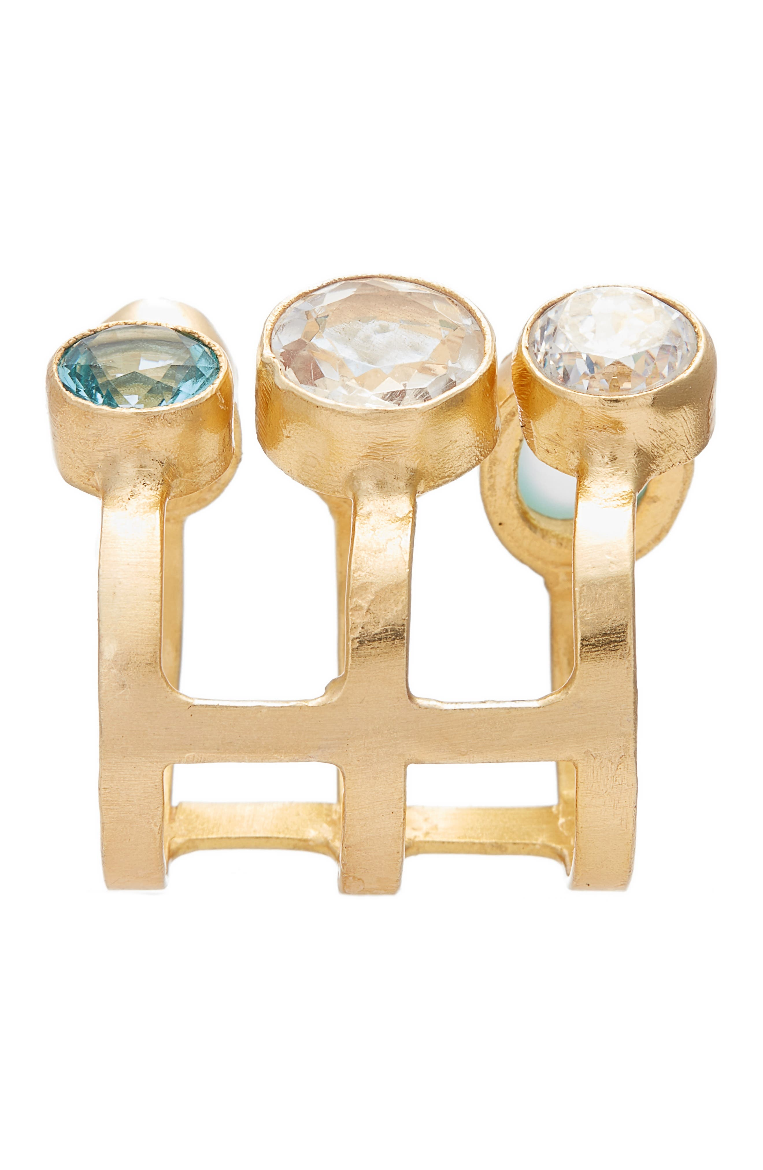 Dani Semiprecious Stone Ring,                             Alternate thumbnail 2, color,                             Gold