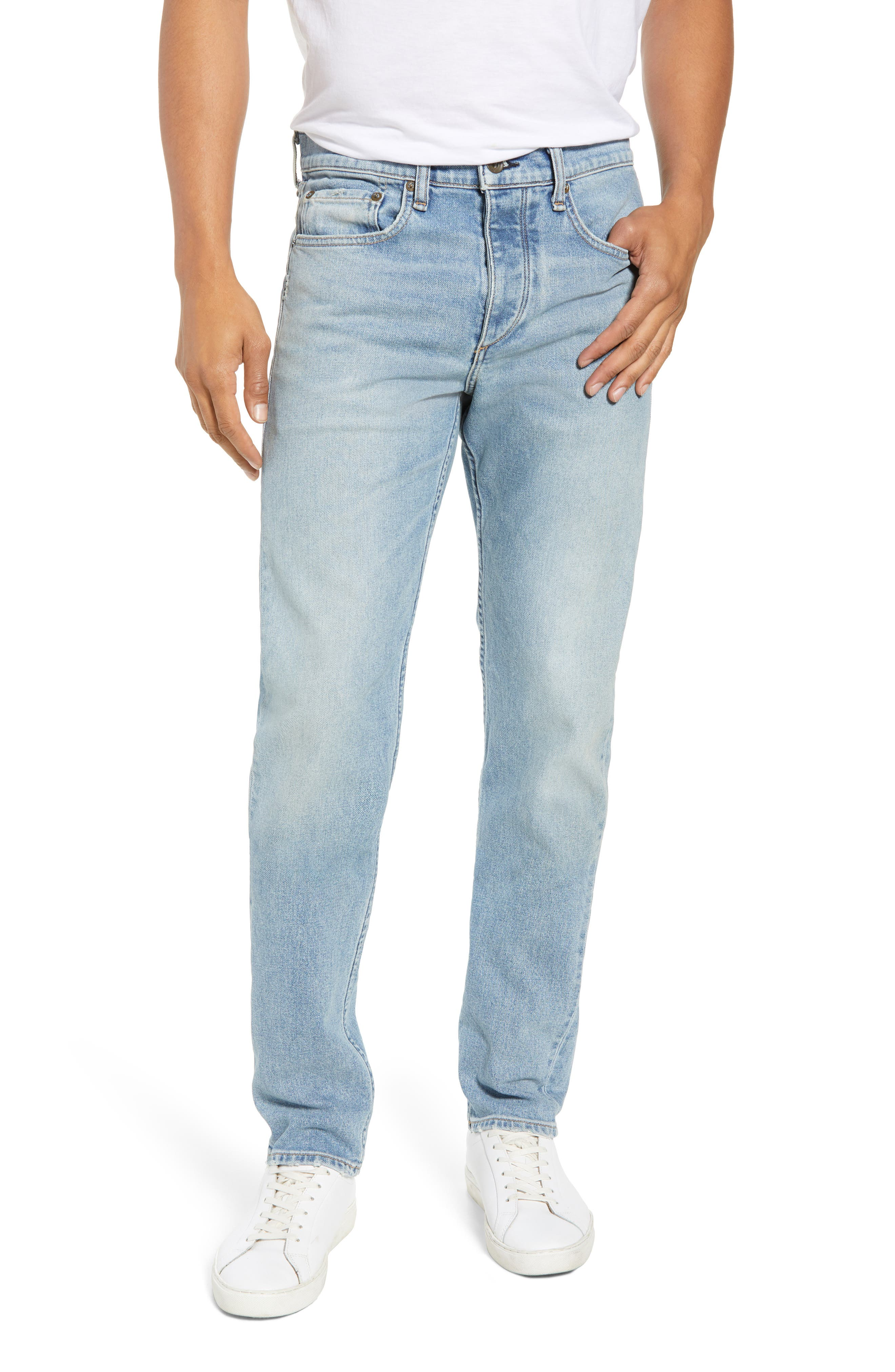 Fit 2 Slim Fit Jeans,                         Main,                         color, Somerset
