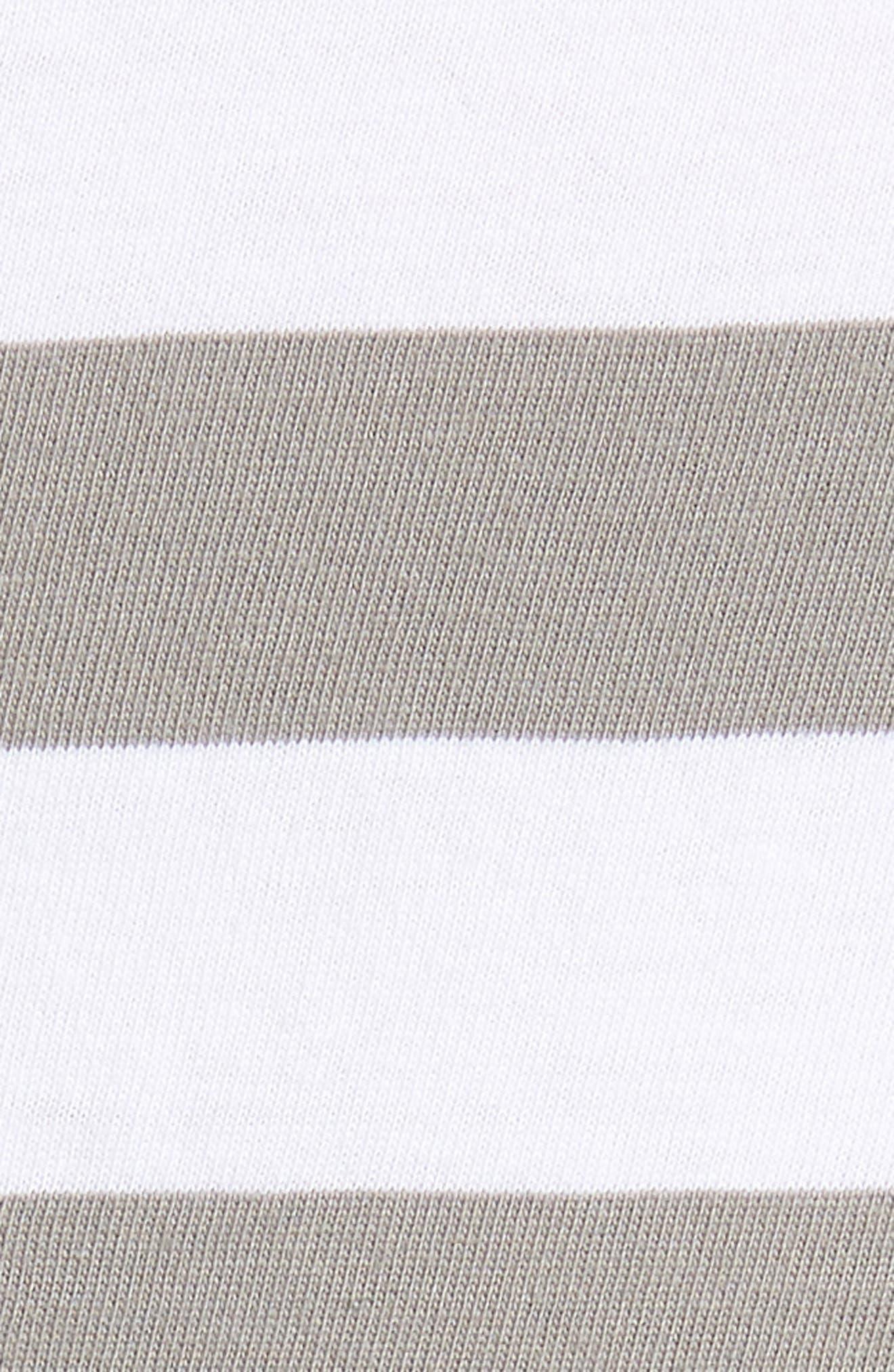 Stripe Reissue T-Shirt,                             Alternate thumbnail 5, color,                             Standard White