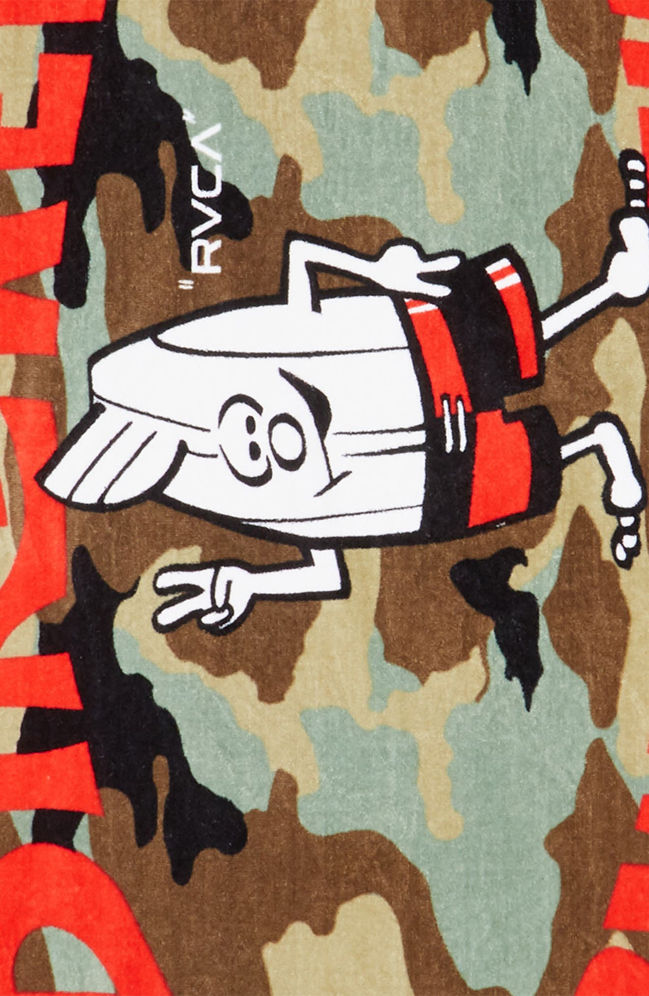 Bomber Towel,                             Alternate thumbnail 2, color,                             Multi