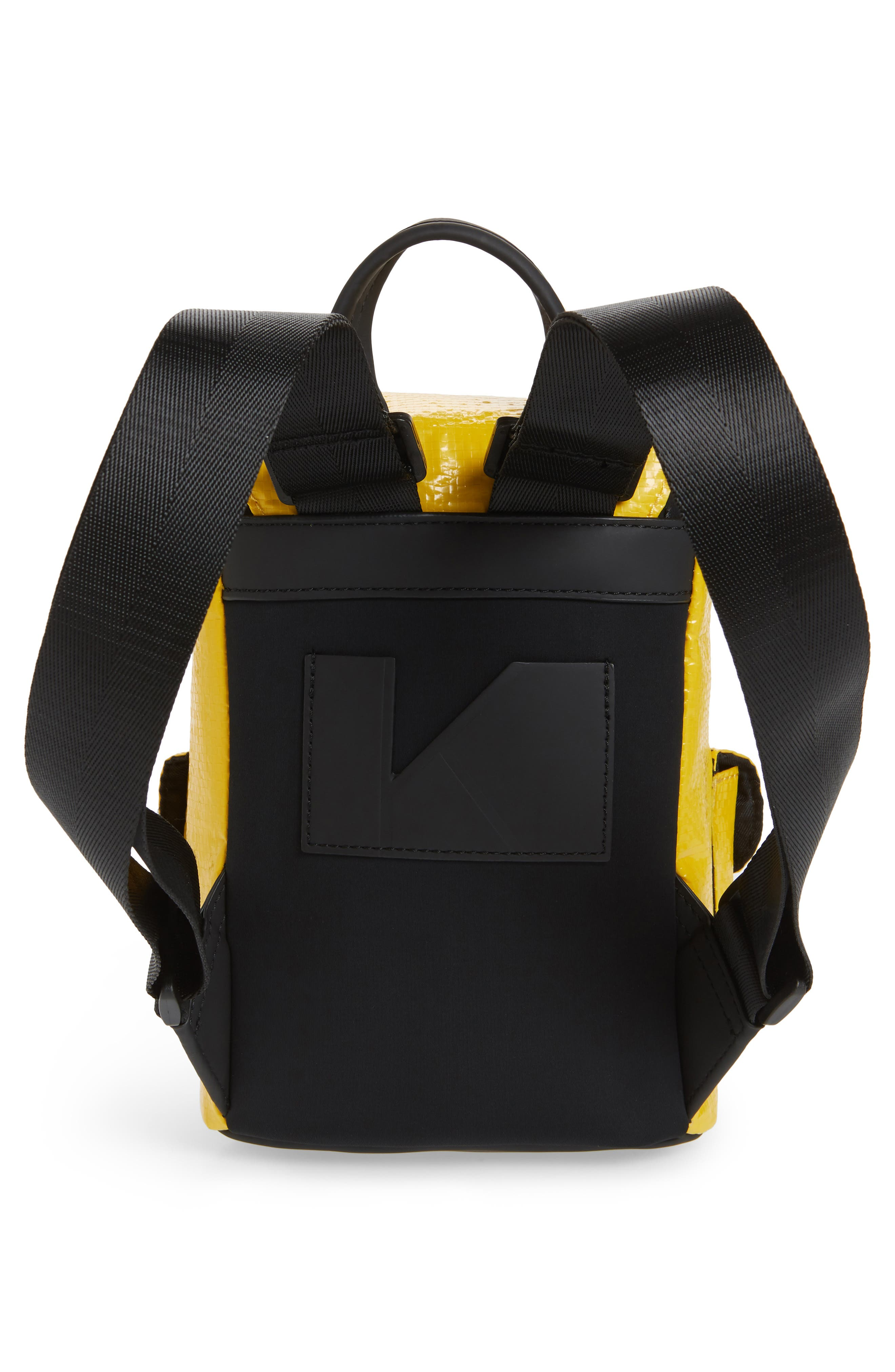 Mini Parker Water Resistant Backpack,                             Alternate thumbnail 4, color,                             Yellow