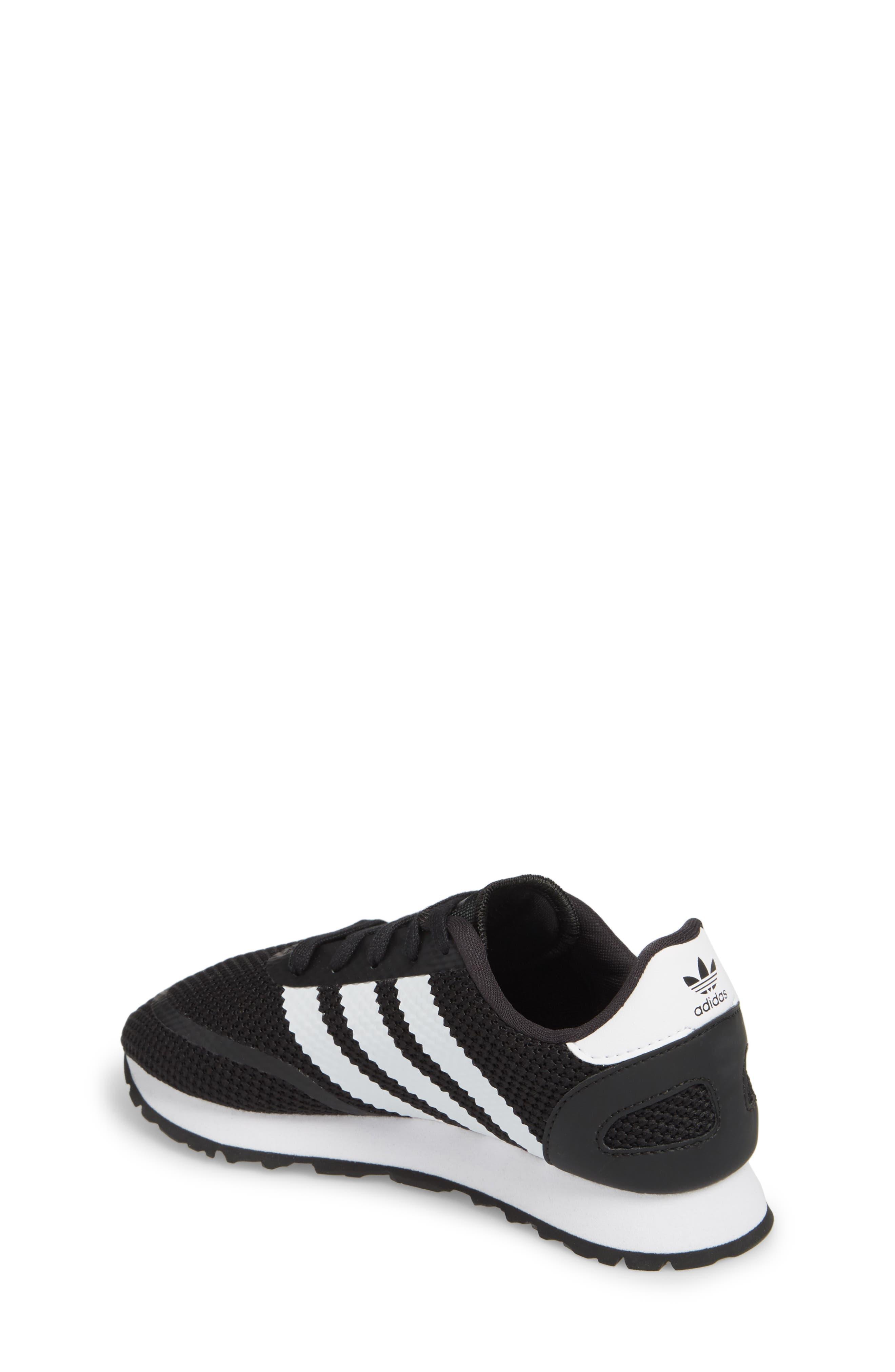 N-5923 Sneaker,                             Alternate thumbnail 2, color,                             Black/ White/ Black