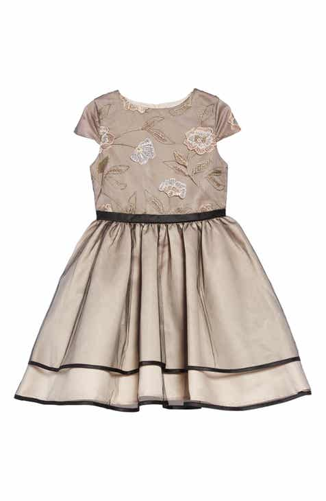 Flower girl dresses accessories nordstrom little angels embroidered mesh dress toddler girls little girls mightylinksfo