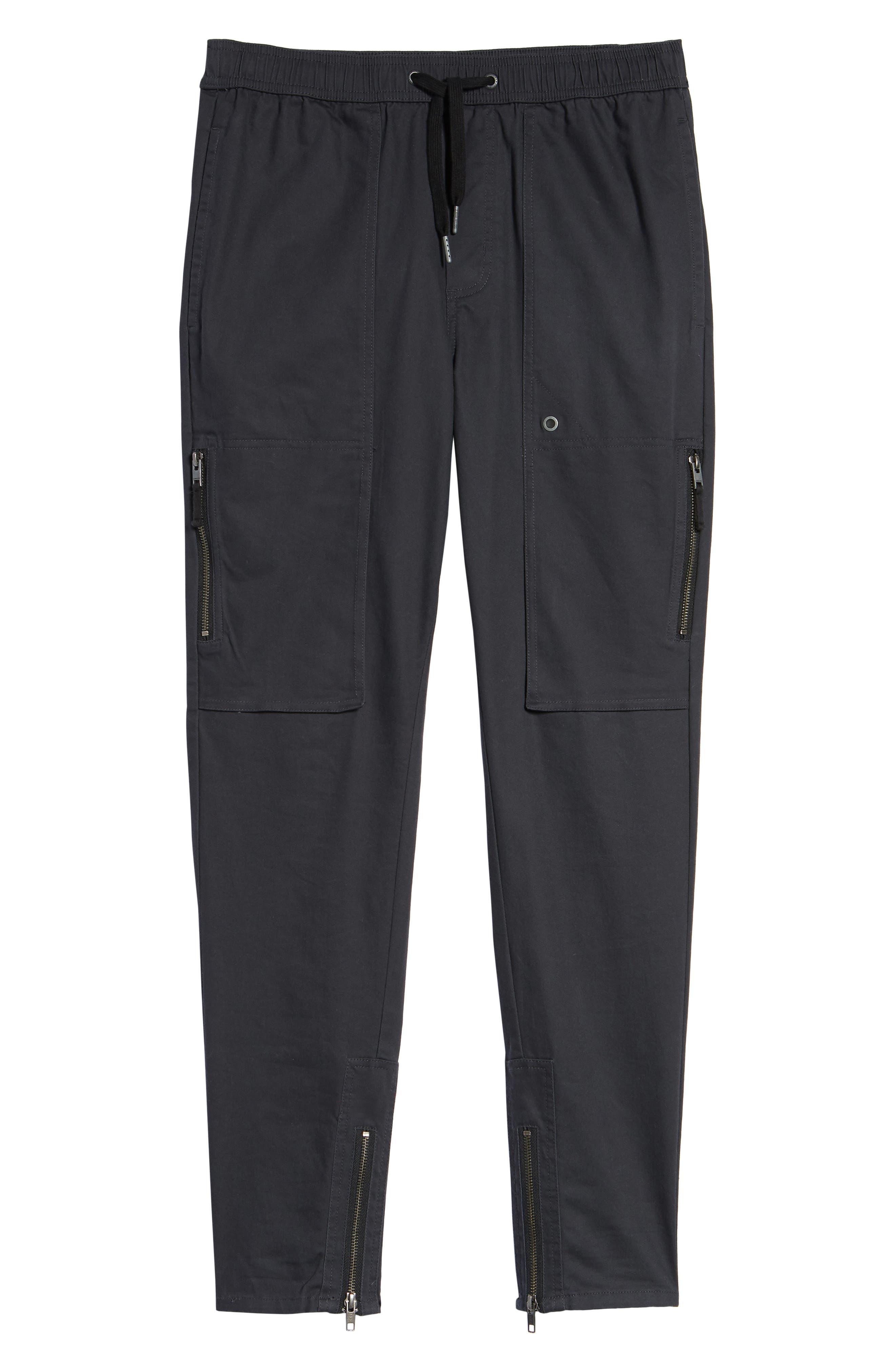 Blockshot Jogger Pants,                             Alternate thumbnail 6, color,                             Vintage Black/ Black