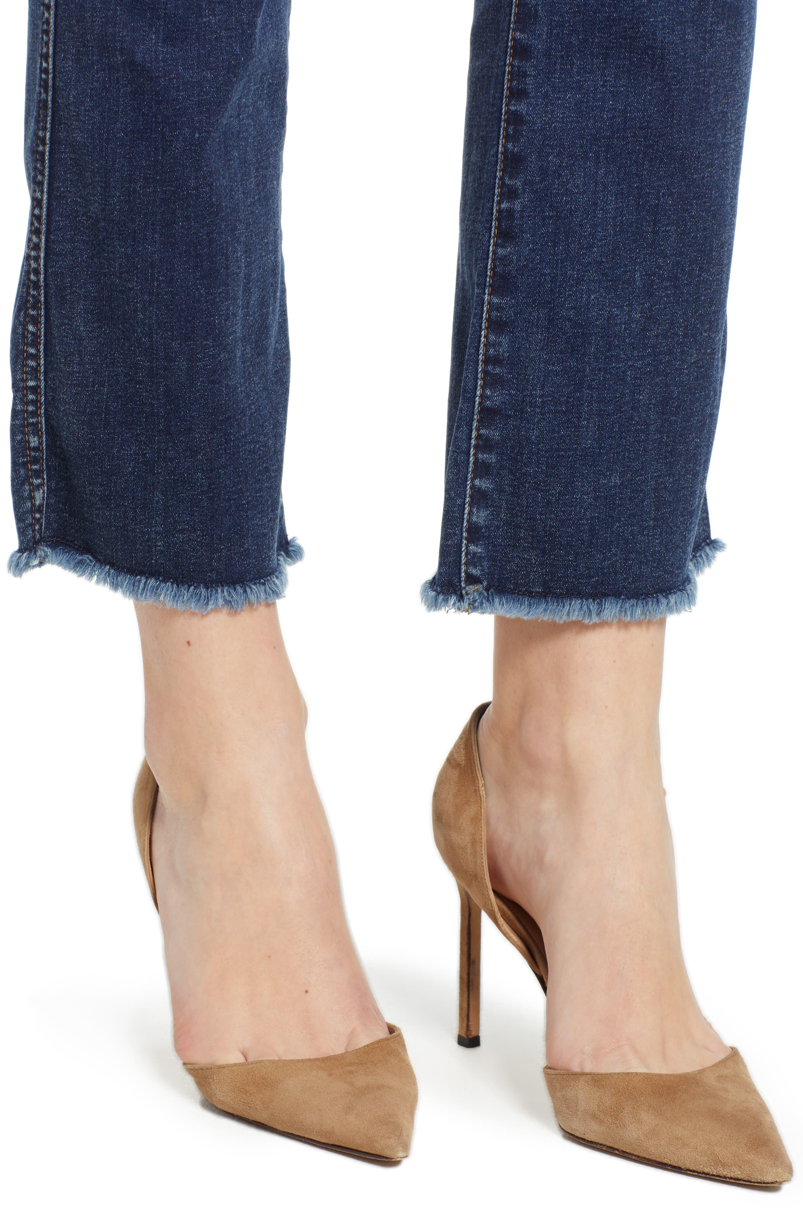 b(air) Crop Bootcut Jeans,                             Alternate thumbnail 4, color,                             B Air Echo