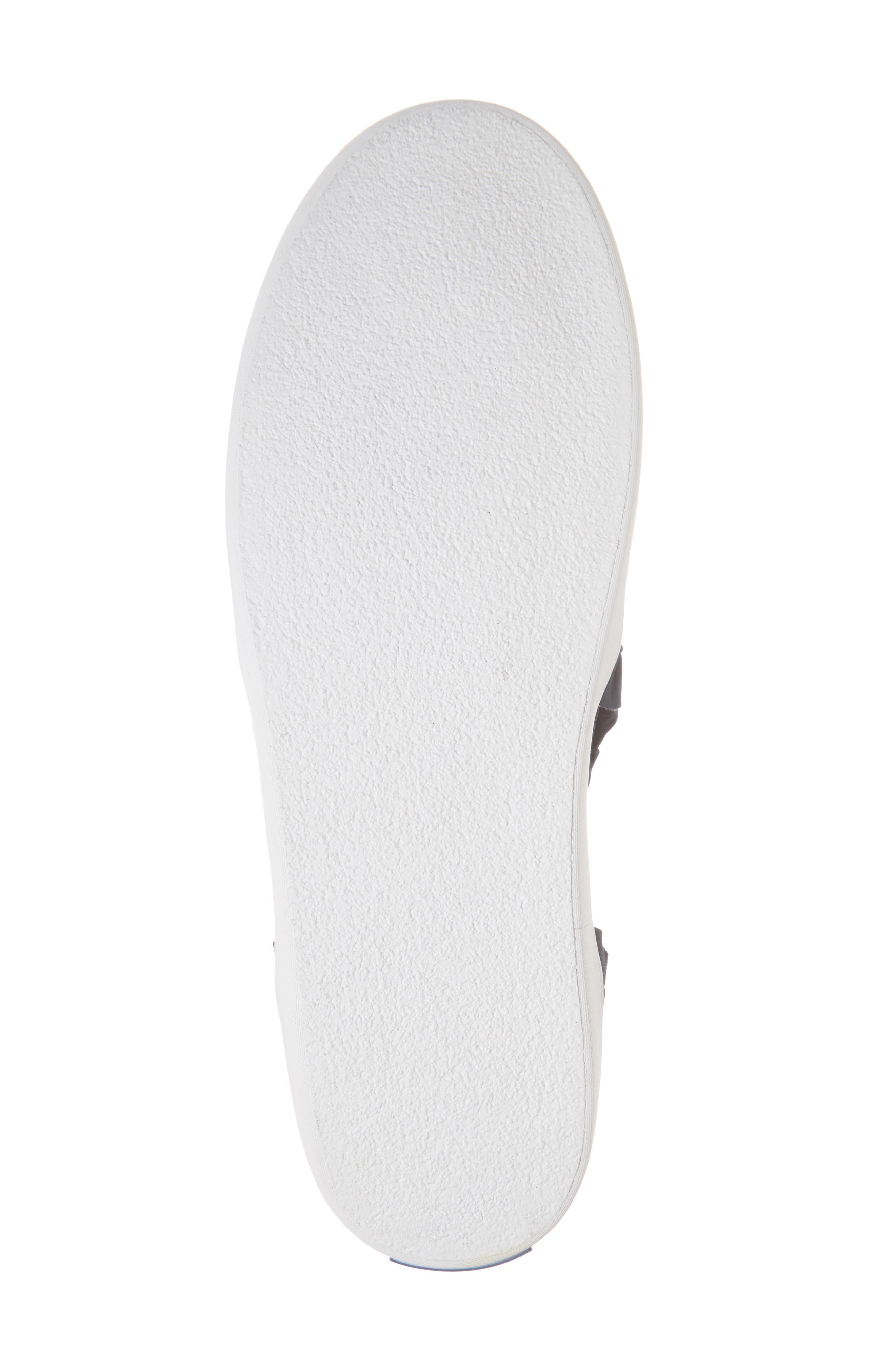 lilly ruffle slip-on sneaker,                             Alternate thumbnail 6, color,                             Navy
