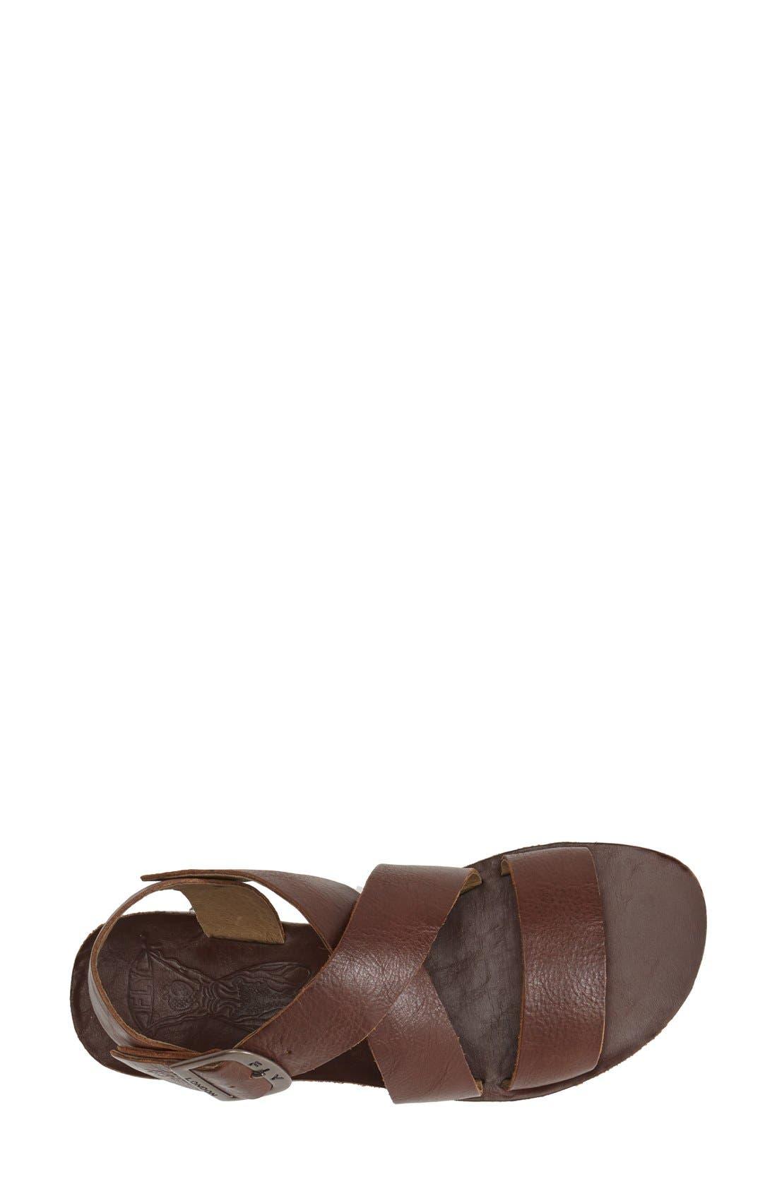 Alternate Image 3  - Fly London 'Bian' Flat Leather Sandal (Women)