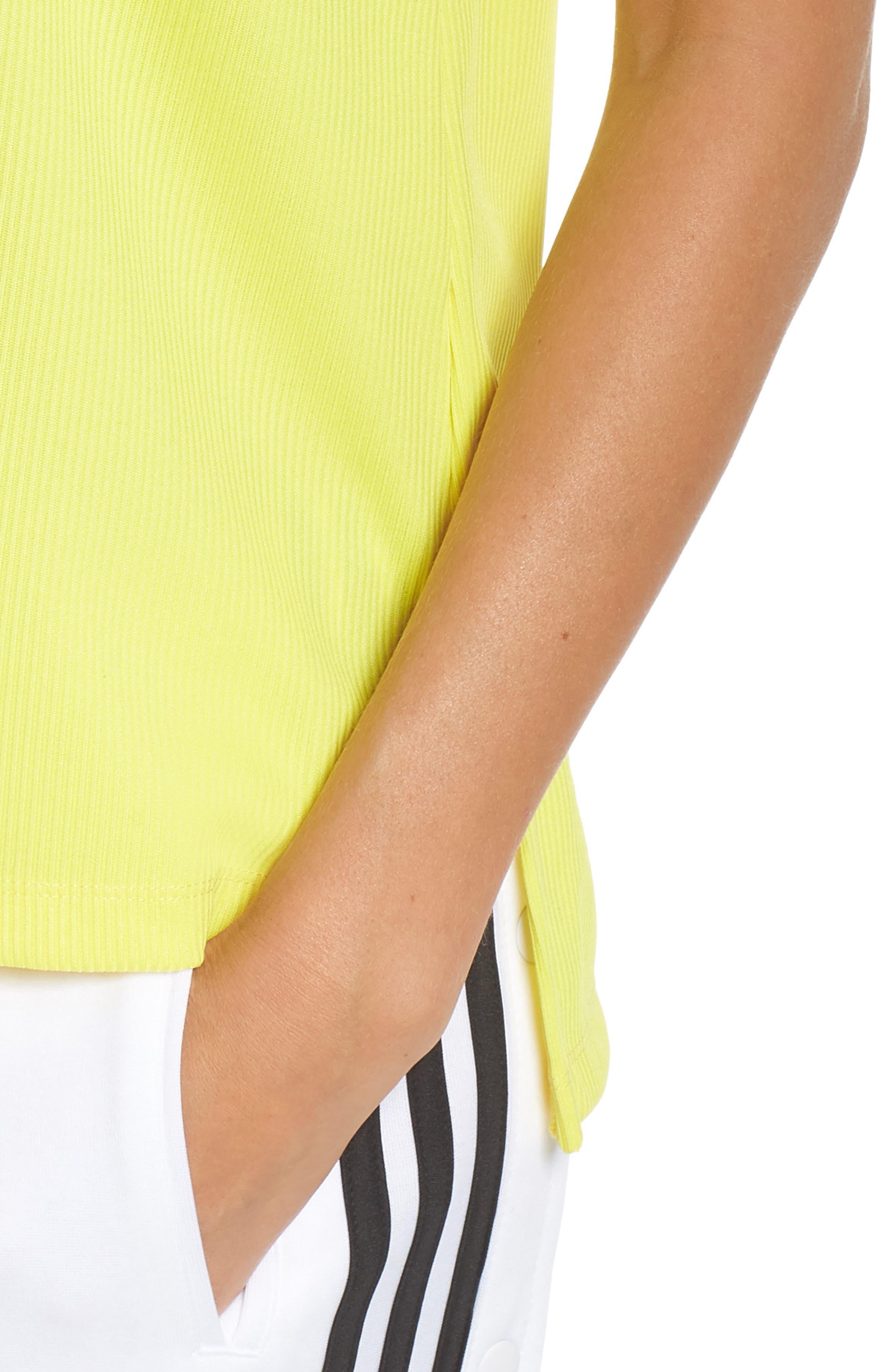 Originals Fashion League Tank,                             Alternate thumbnail 4, color,                             Prime Yellow