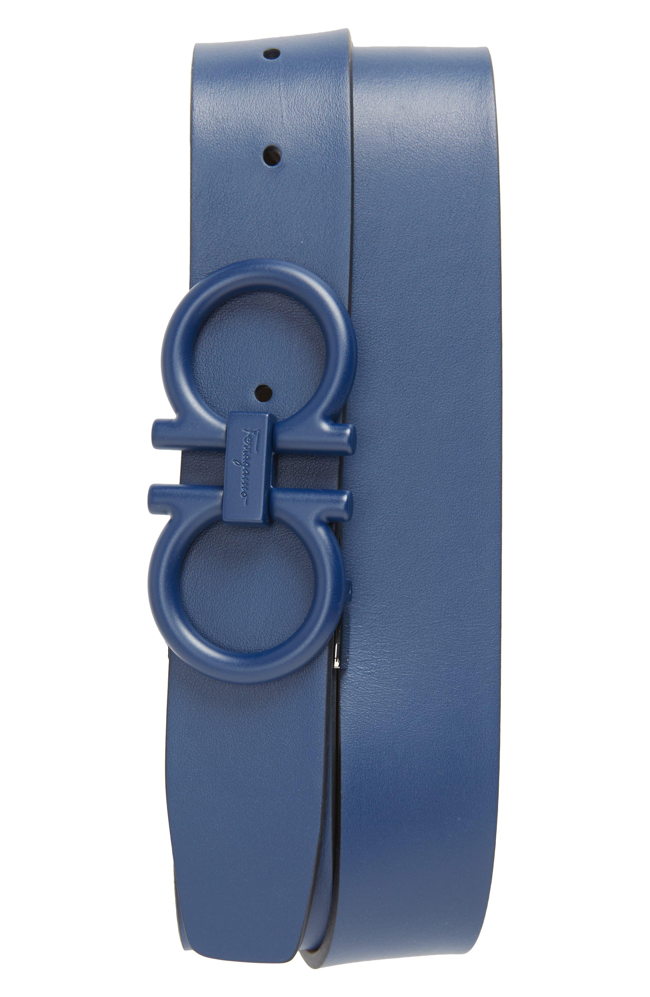 c98881bf promo code for salvatore ferragamo tonal double gancini leather belt 93777  de71f