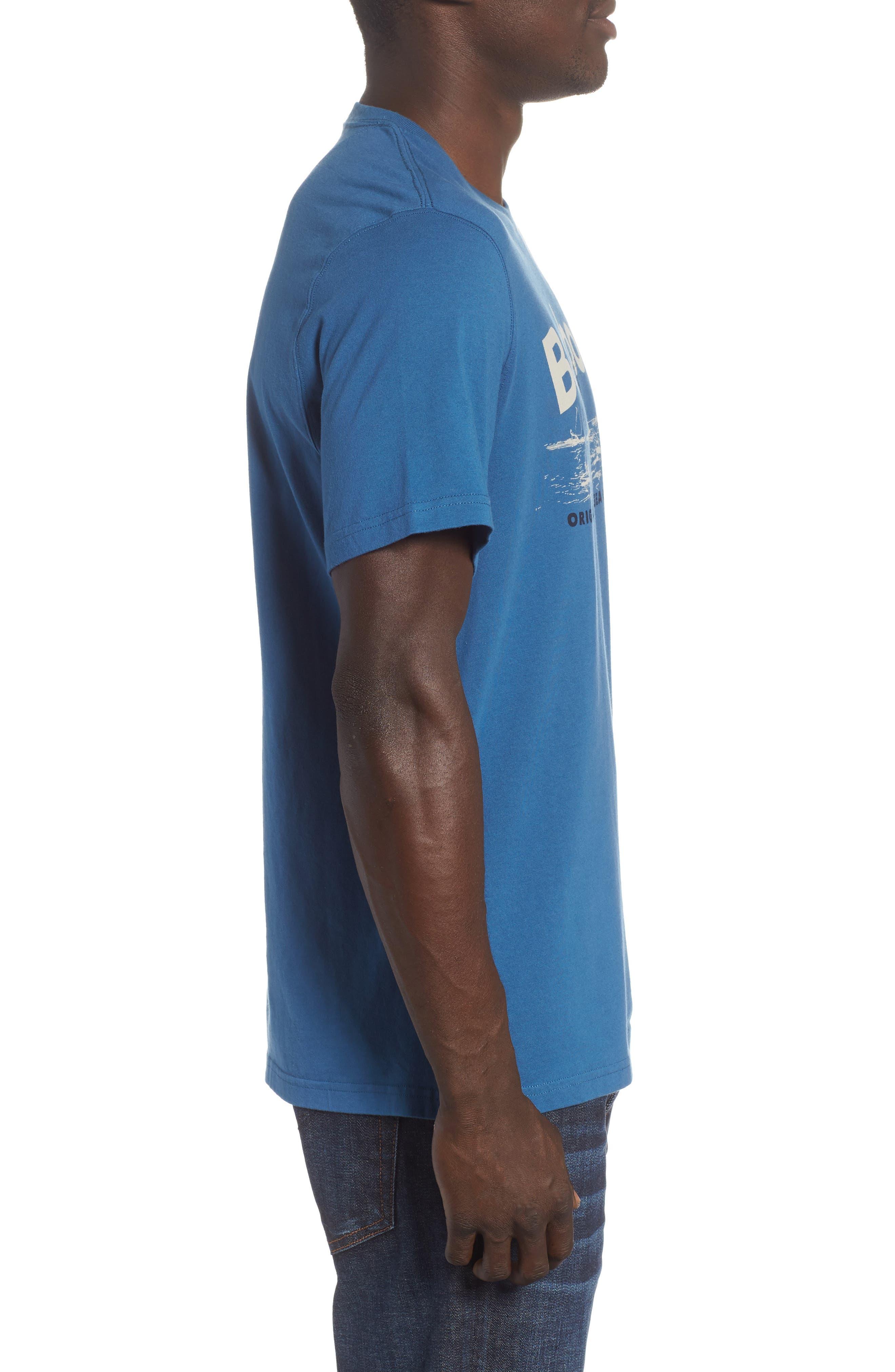 Waterline Graphic T-Shirt,                             Alternate thumbnail 5, color,                             Sea Blue