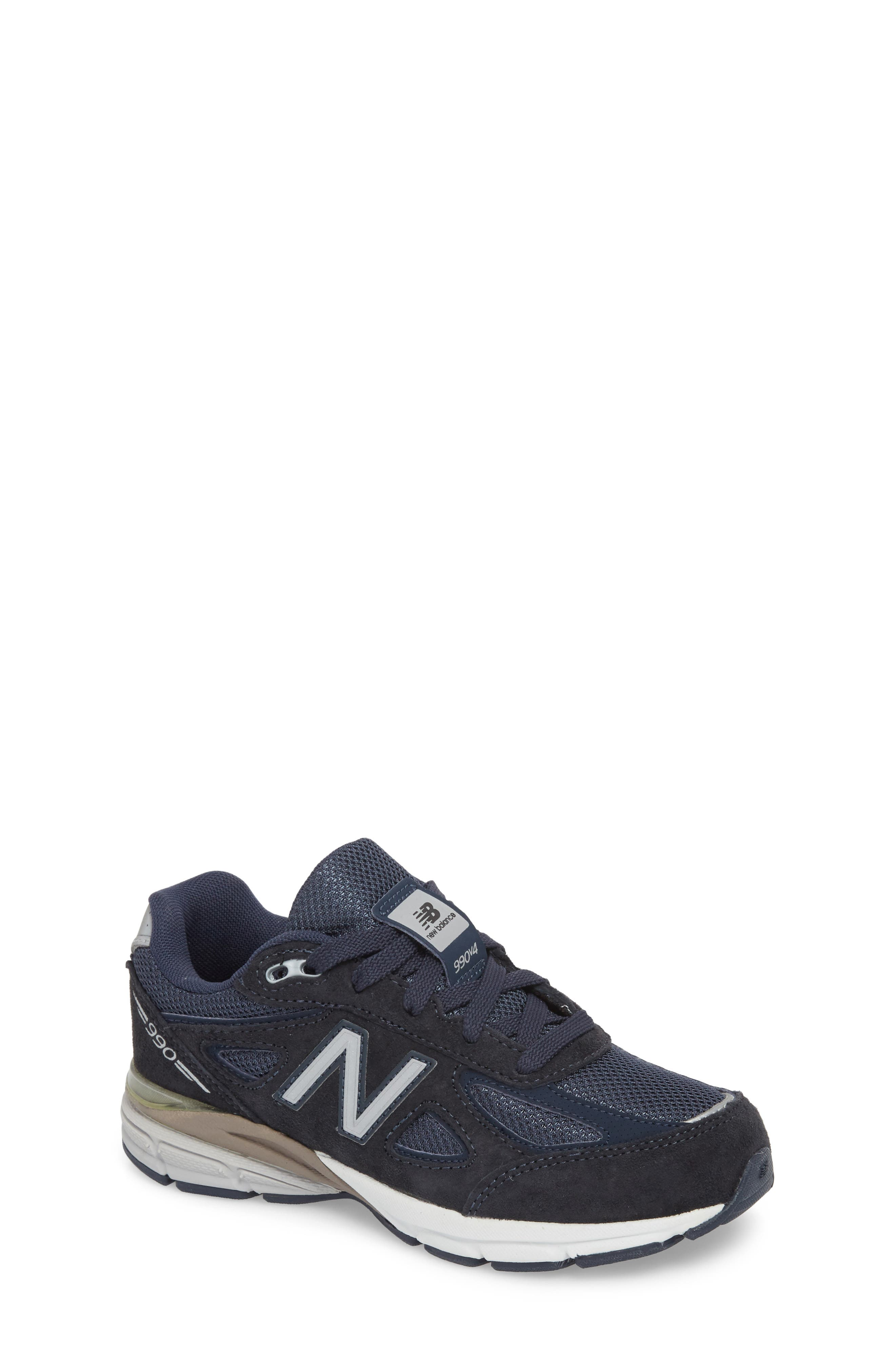 990 Sneaker,                         Main,                         color, Navy