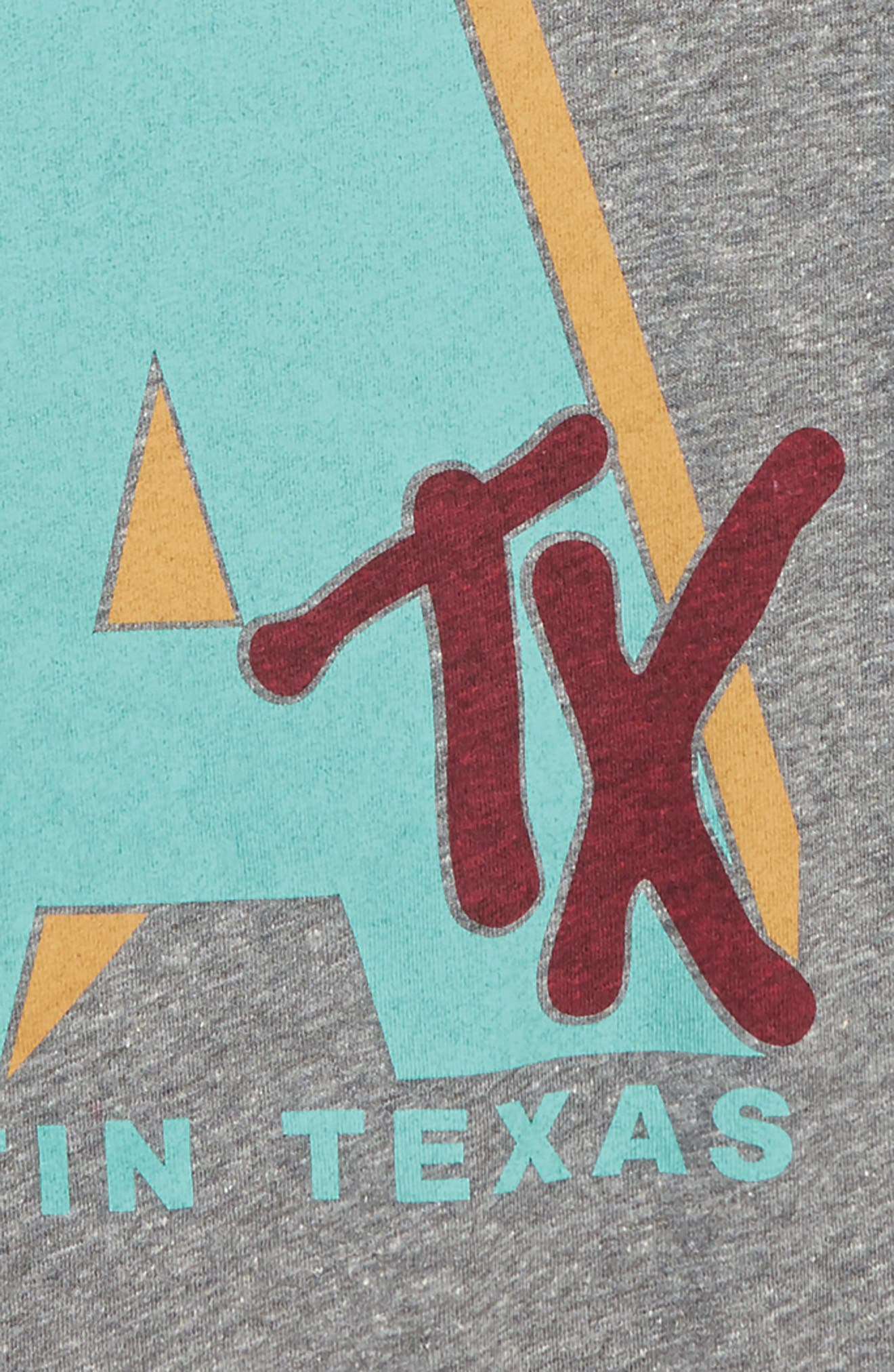 Austin Graphic T-Shirt,                             Alternate thumbnail 2, color,                             Tri Grey