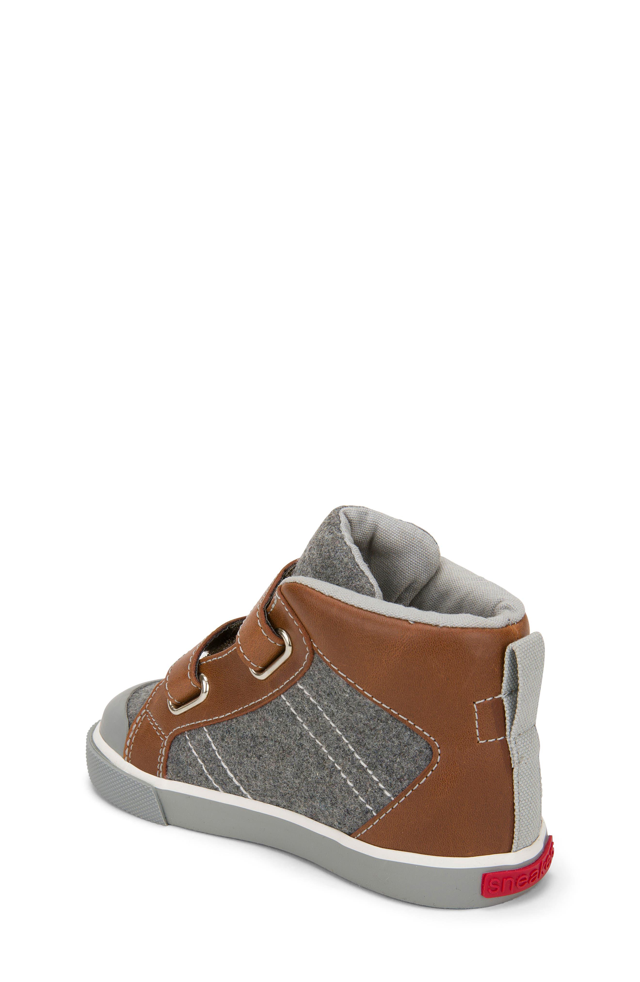 Matty Sneaker,                             Alternate thumbnail 2, color,                             Gray Felt