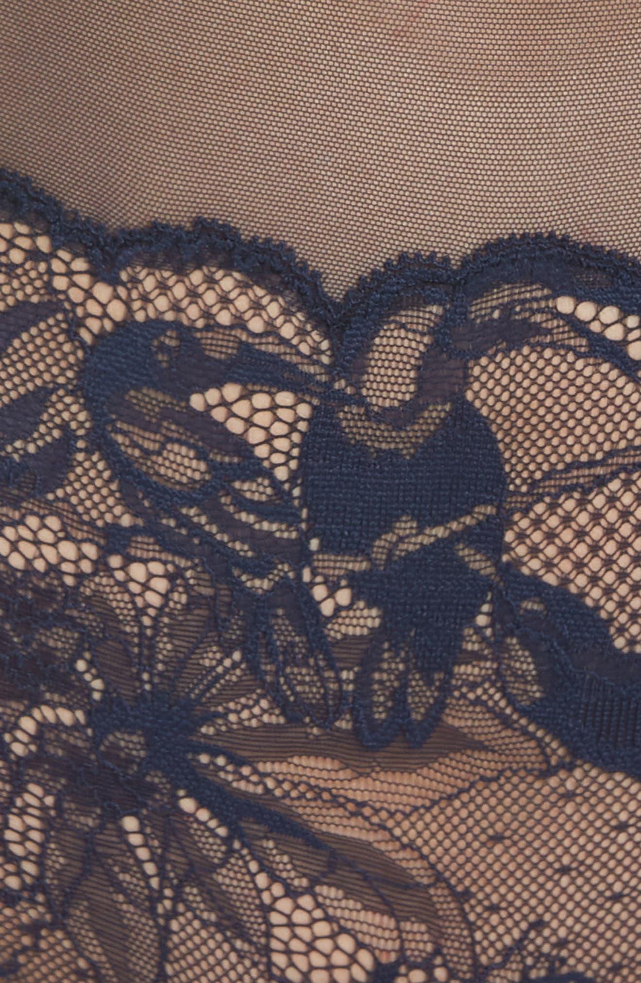 Bird Lace Bodysuit,                             Alternate thumbnail 5, color,                             Shoreline