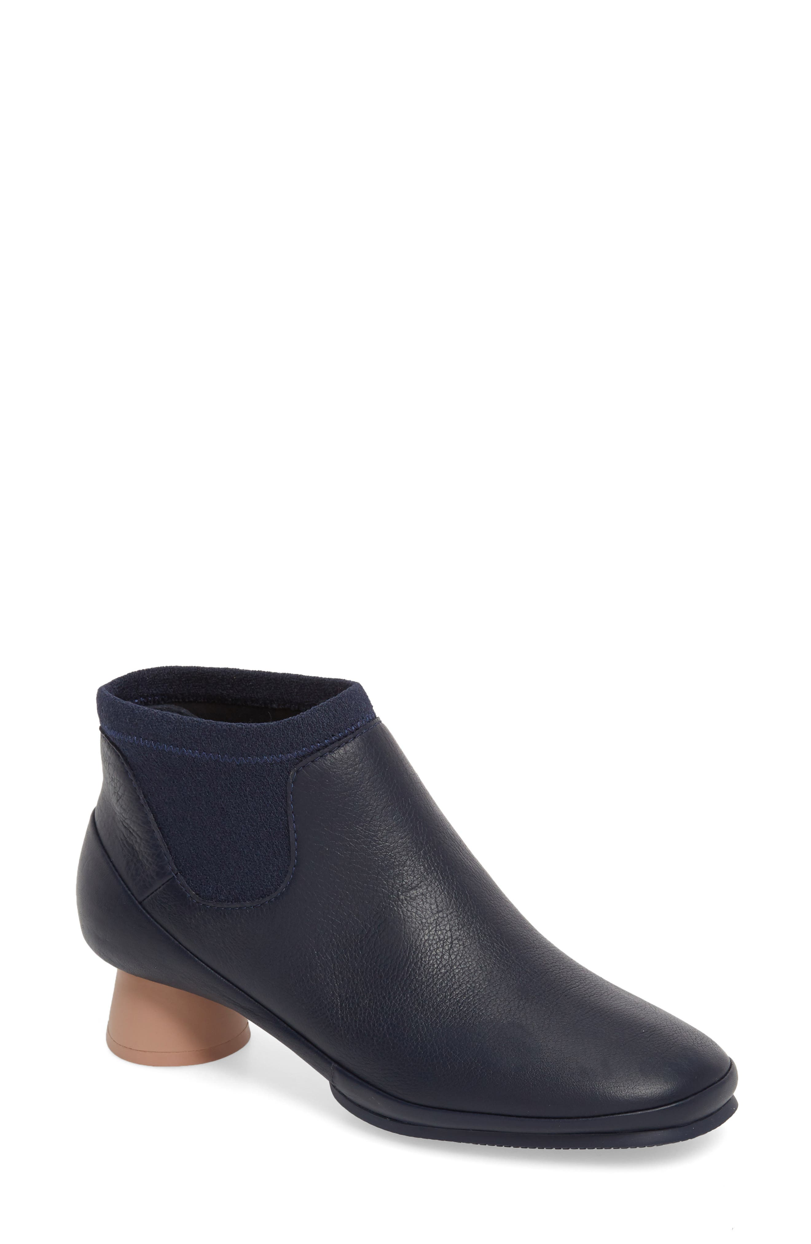Alright Chelsea Bootie,                             Main thumbnail 1, color,                             Navy