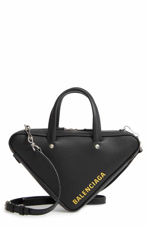 ab4ba3d09d Balenciaga Extra Small Triangle Leather Bag