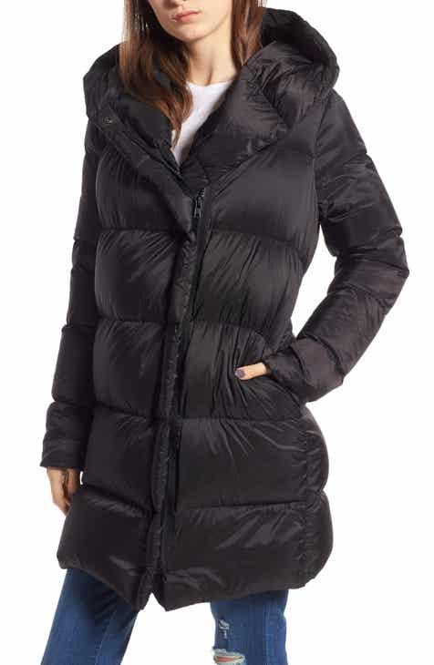 eabd07caff KENDALL + KYLIE Asymmetrical Zip Puffer Coat
