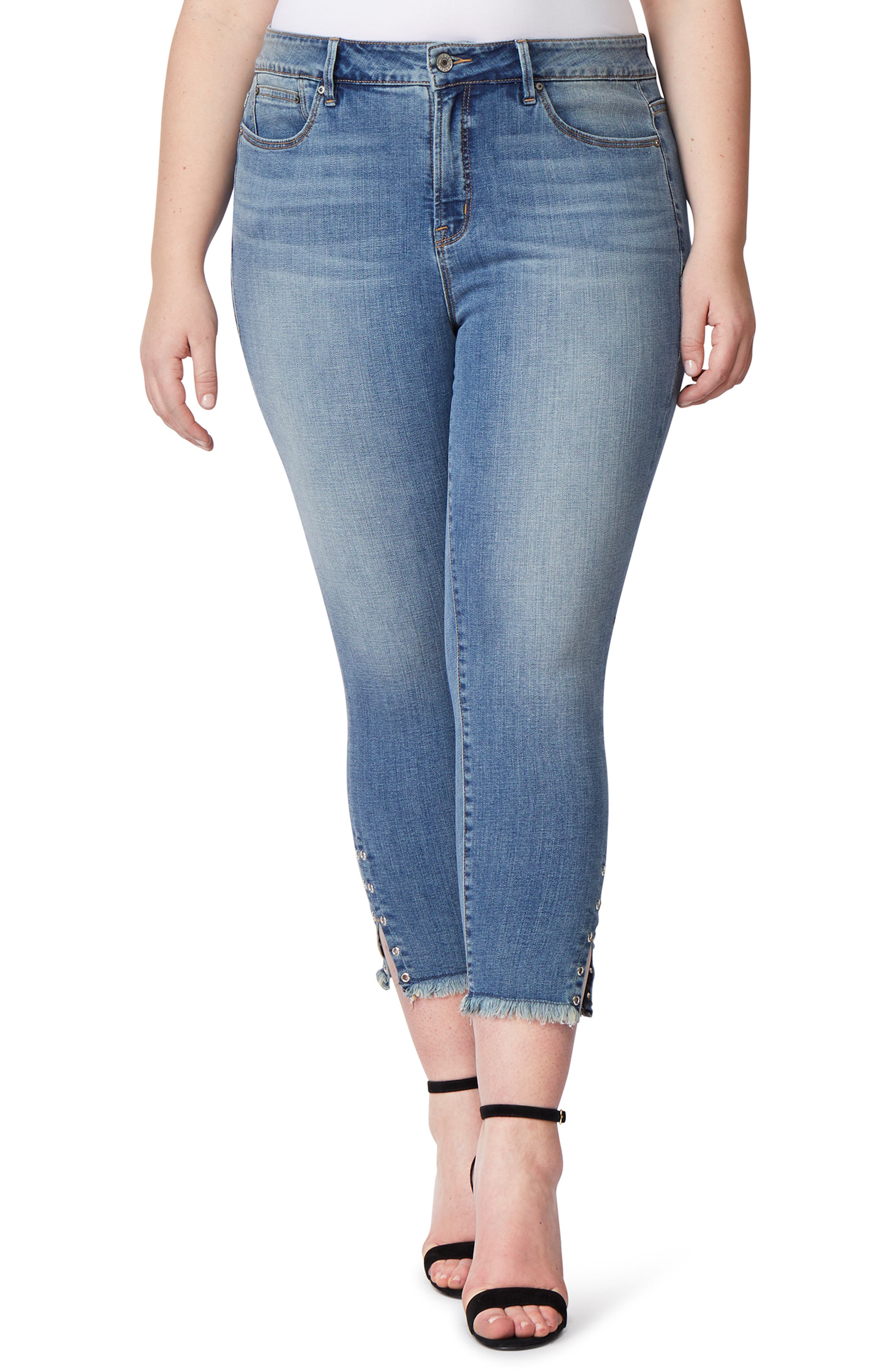 THE DAZZLER CROP SKINNY JEANS