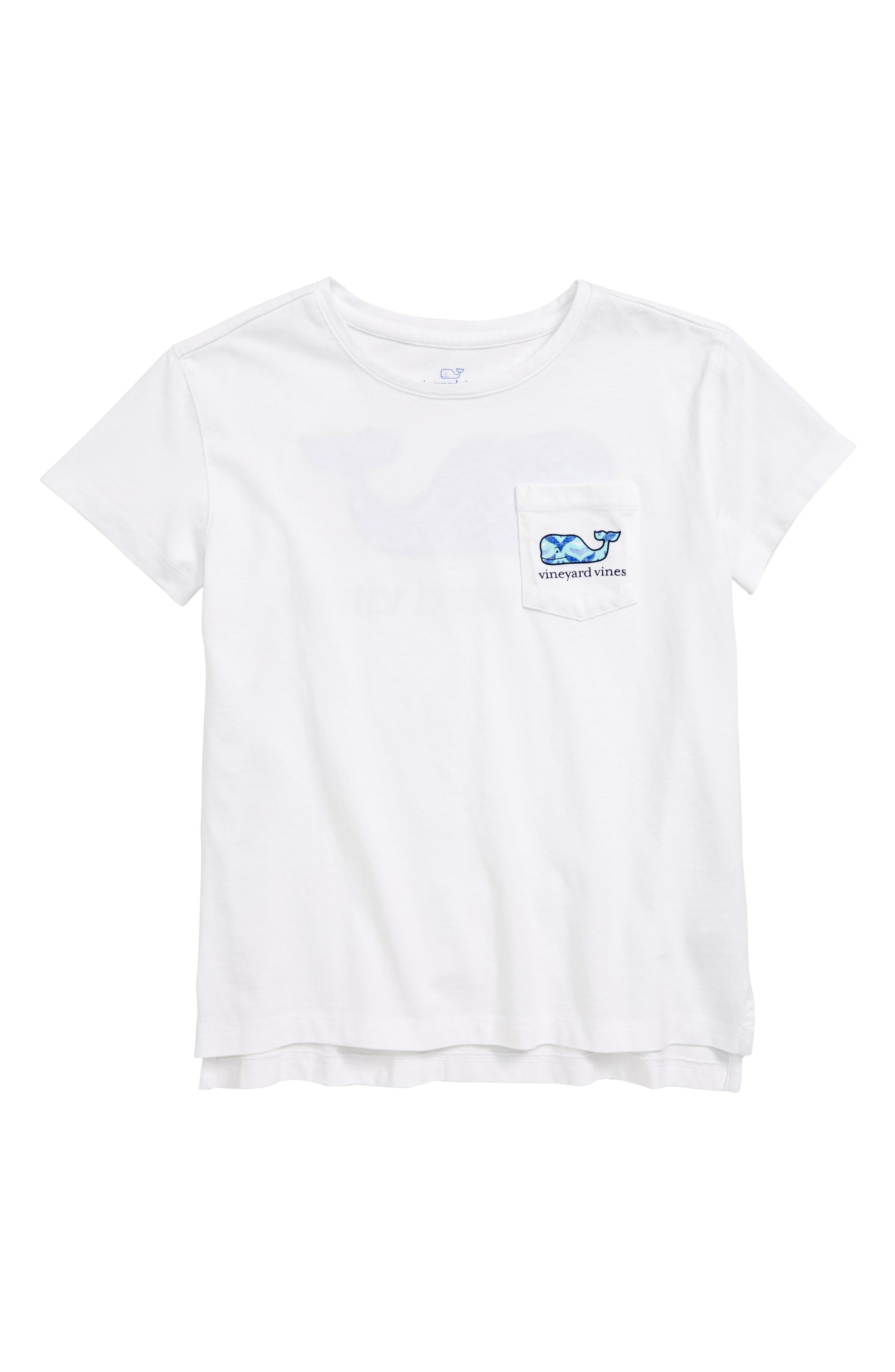 Whaletail Cotton Tee,                         Main,                         color, White Cap