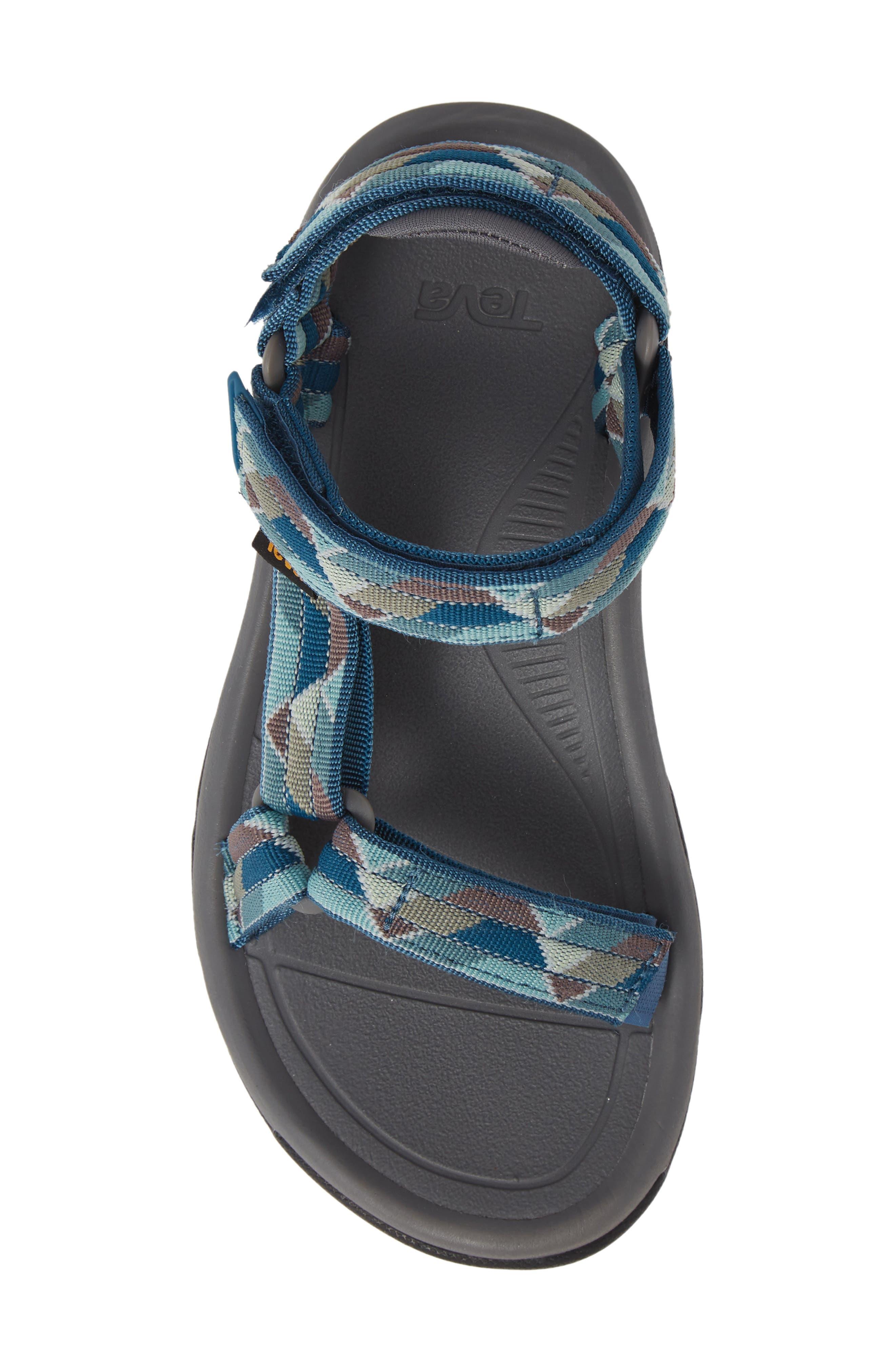 Hurricane XLT 2 Sandal,                             Alternate thumbnail 3, color,                             Blue Fabric