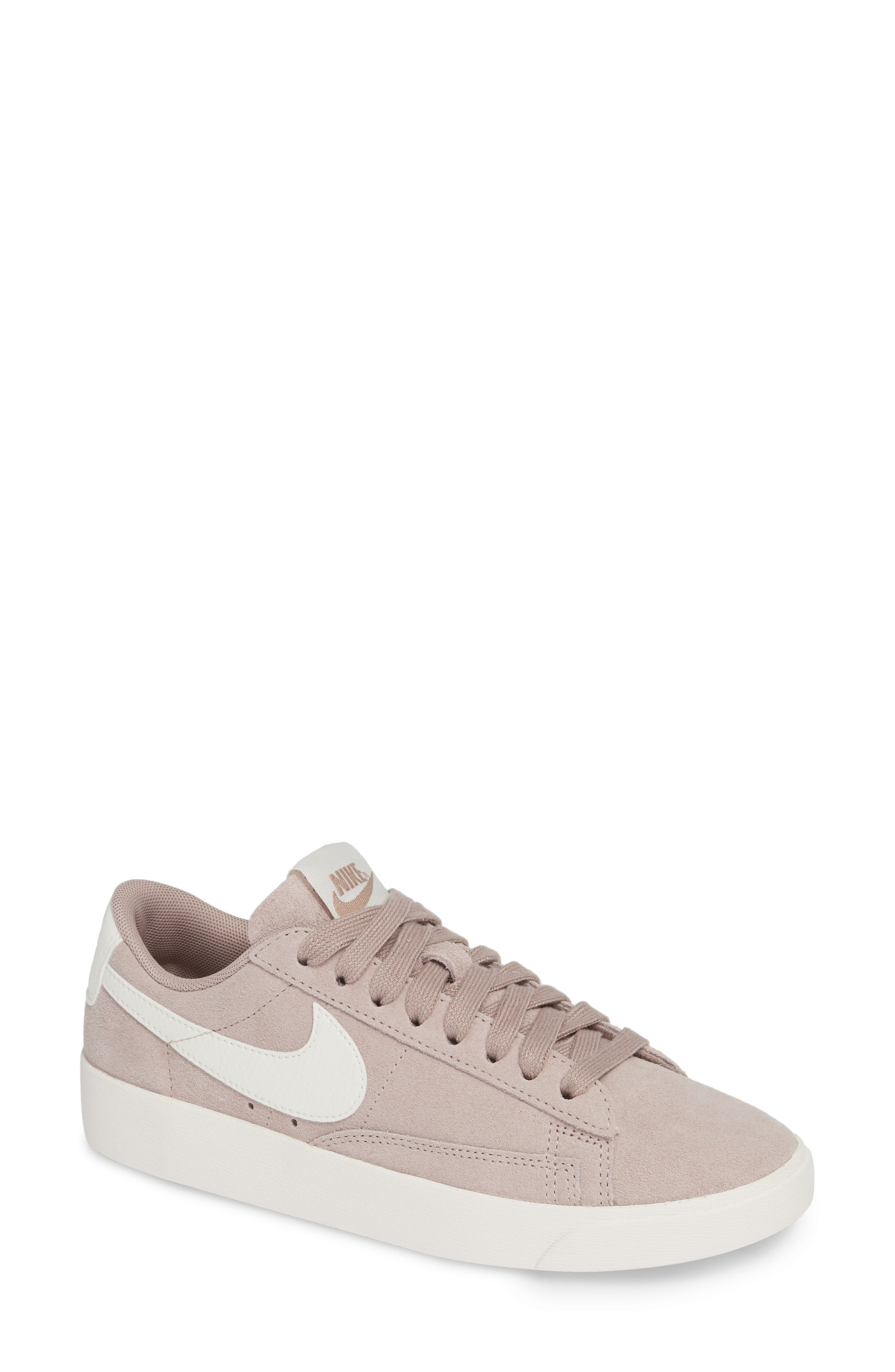 Blazer Low Sneaker,                             Main thumbnail 1, color,                             Diffused Taupe/ Sail
