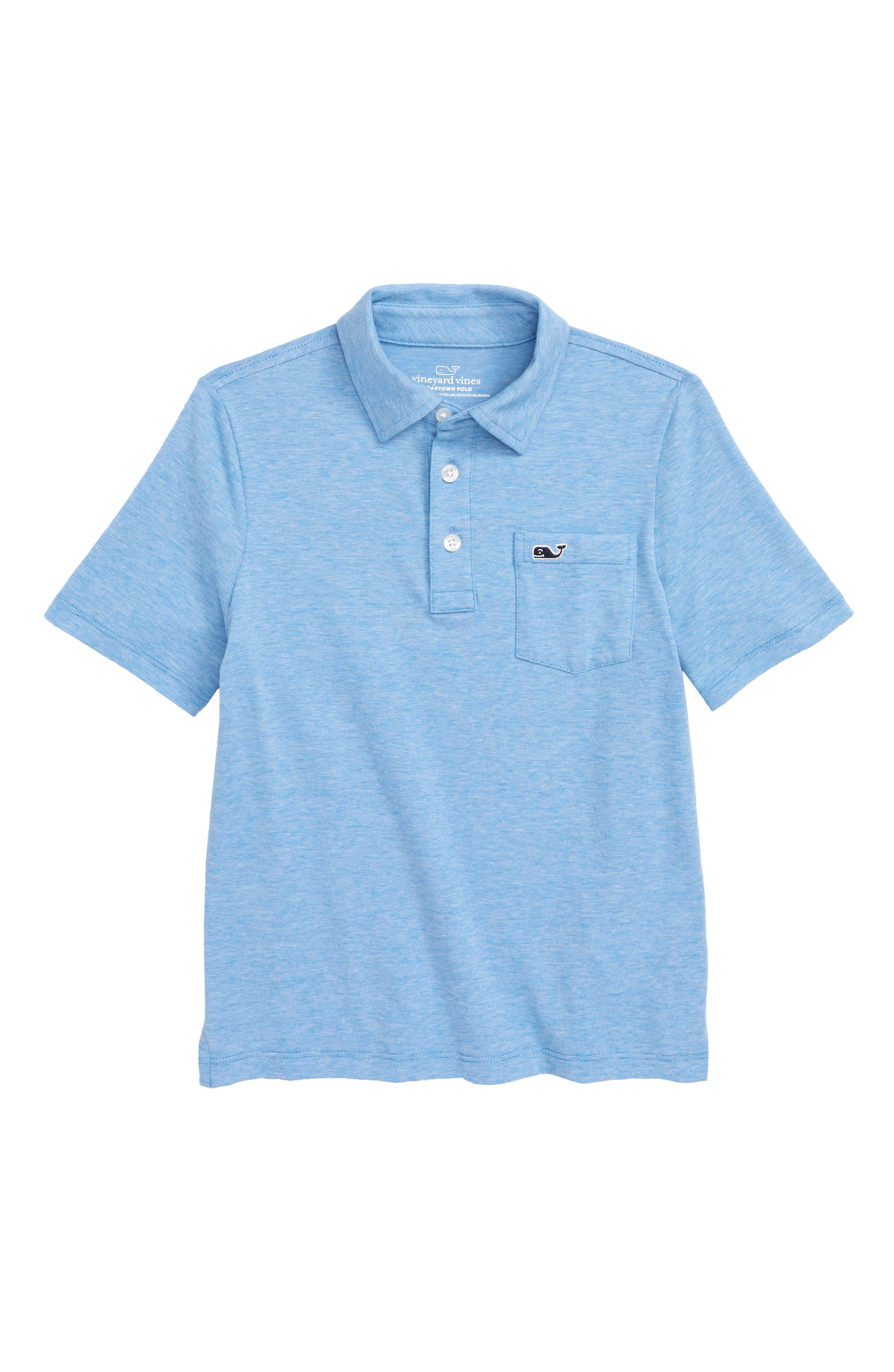 Edgartown Polo,                         Main,                         color, Hull Blue
