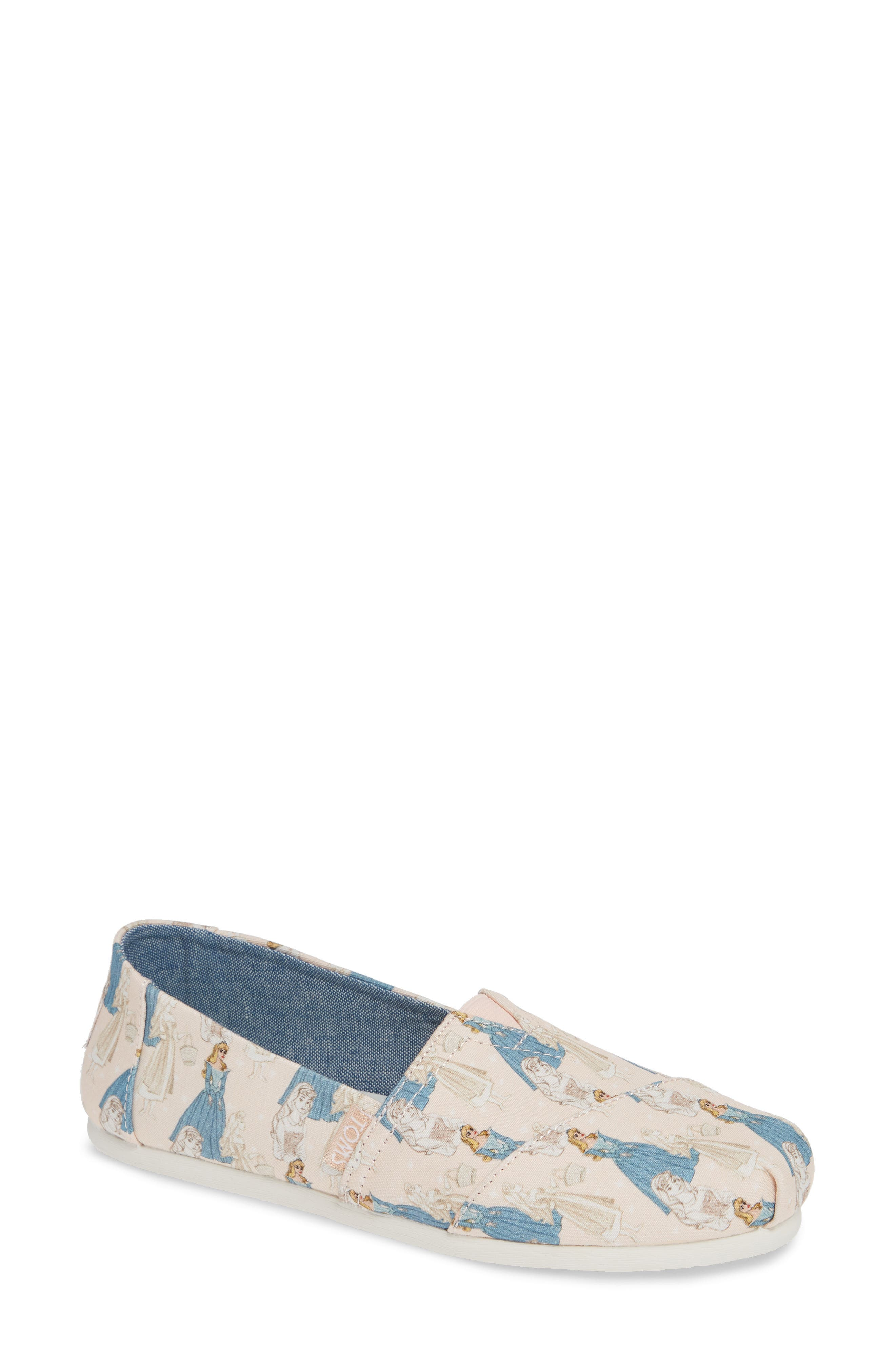 X DISNEY GRAPHIC ALPARGATA SLIP-ON