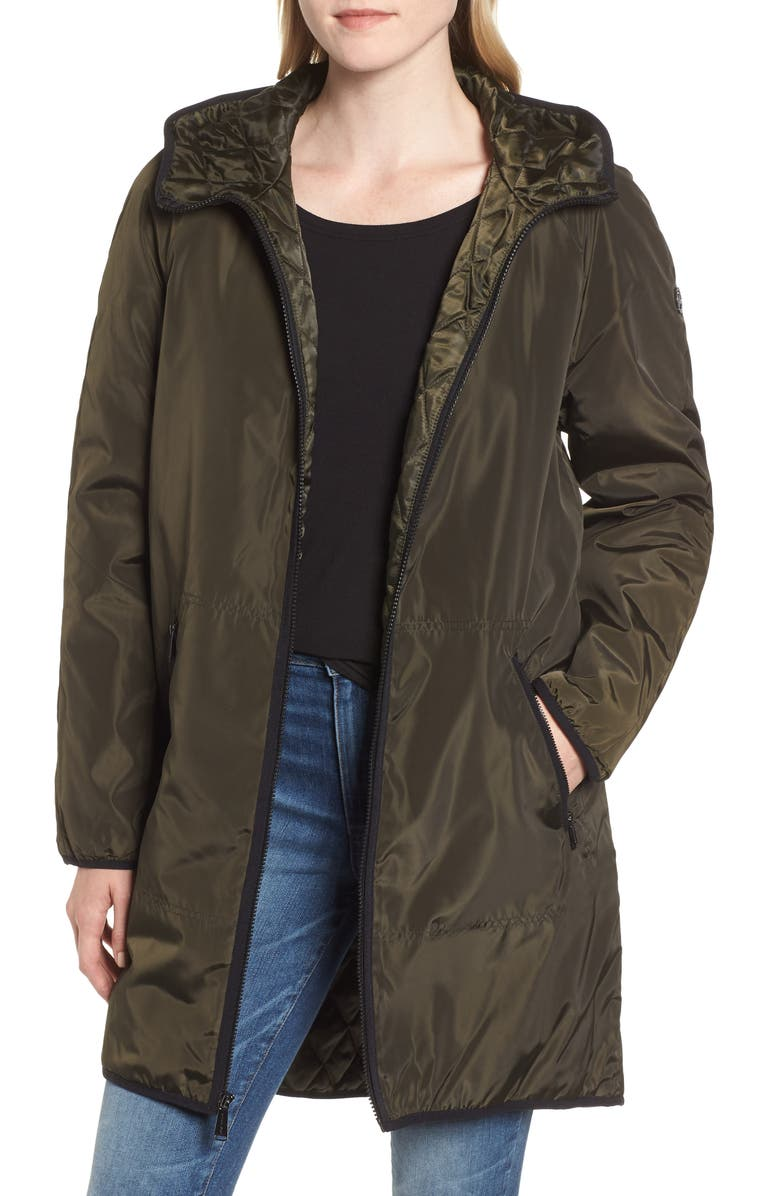 Quilted Lining Parka