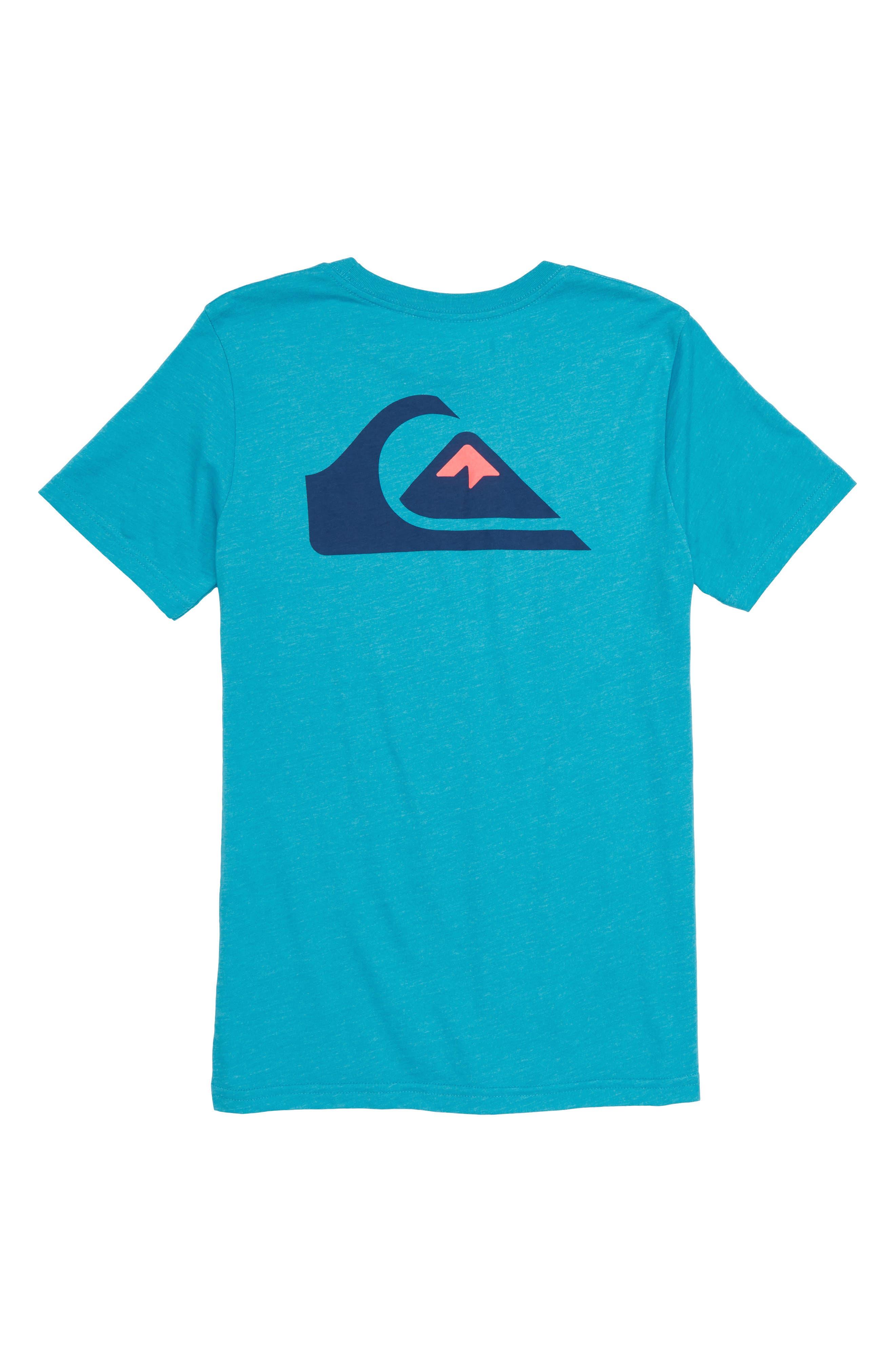 Vice Versa Graphic T-Shirt,                             Alternate thumbnail 2, color,                             Typhoon Heather