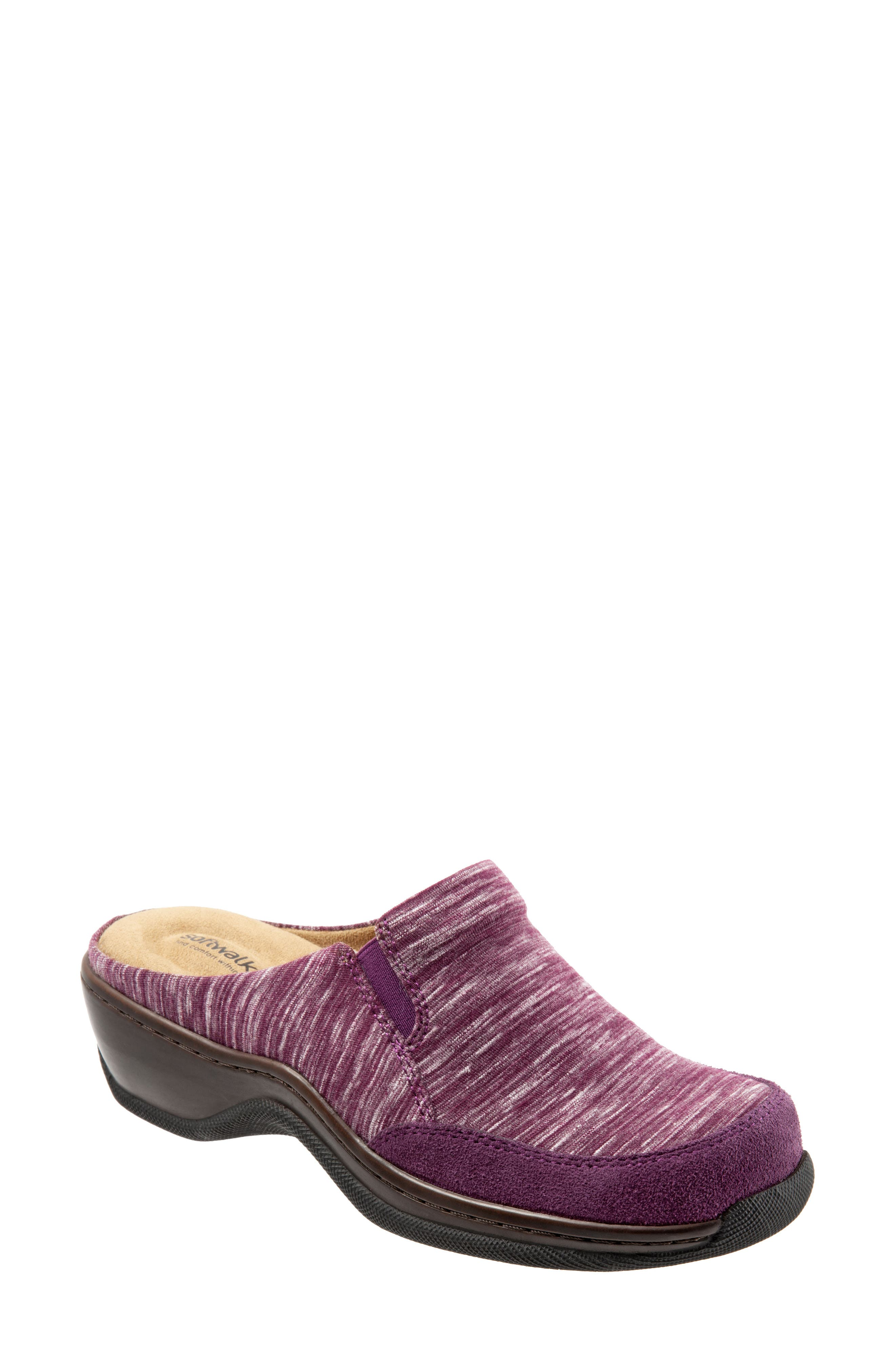 Alcon Clog,                         Main,                         color, Burgundy Multi Fabric