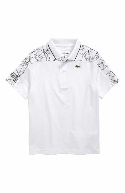 b9d85472fc3be2 Lacoste Djoko Shoulders Print Polo (Little Boys)