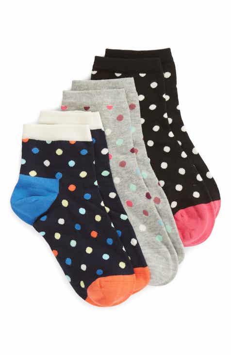 e0742d13491 Happy Socks Dot 3-Pack Ankle Socks