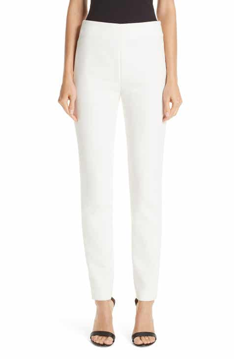 St. John Collection Bella Double Weave Skinny Pants by ST. JOHN COLLECTION