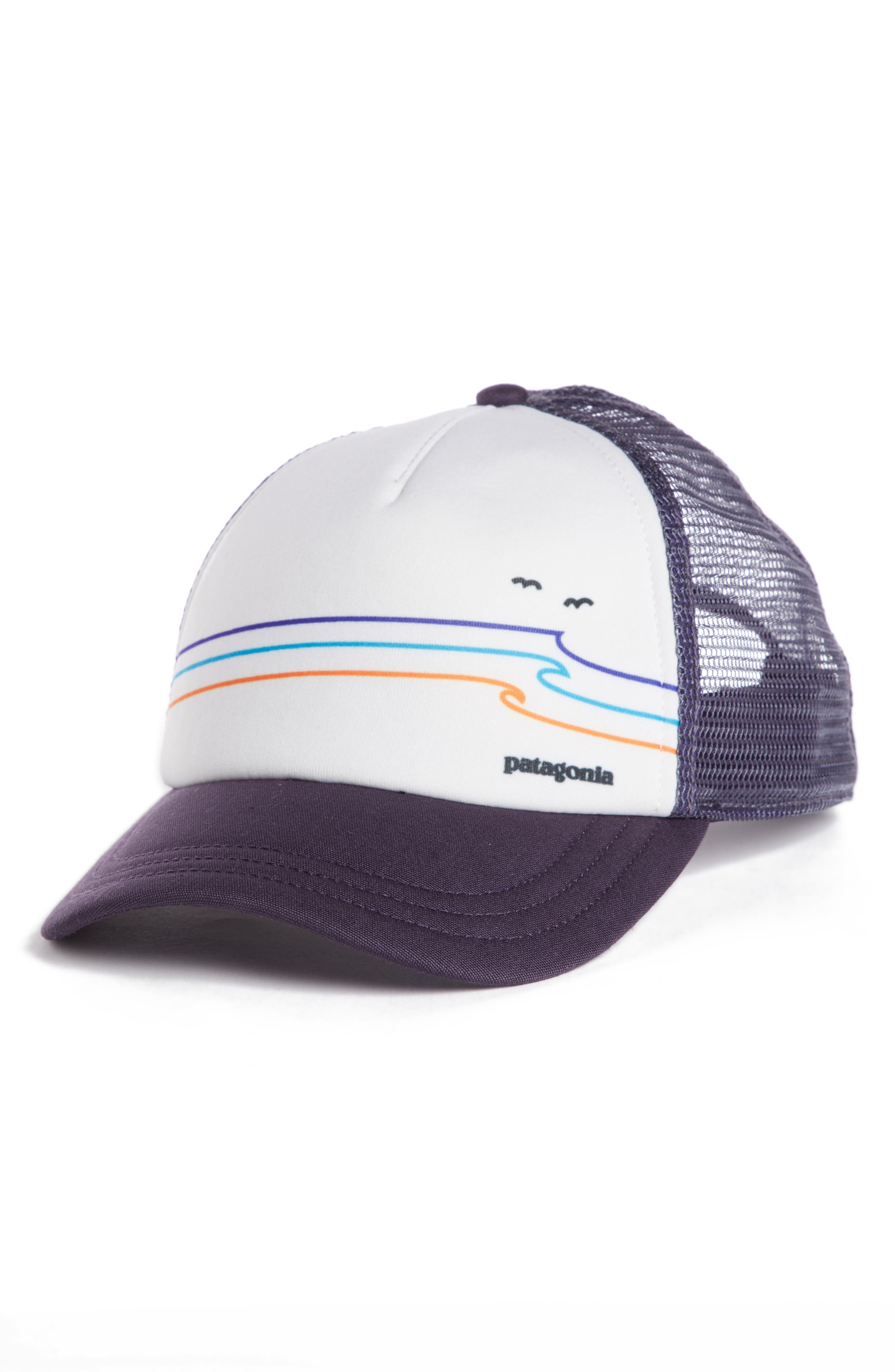 TIDE RIDE INTERSTATE TRUCKER HAT - PURPLE