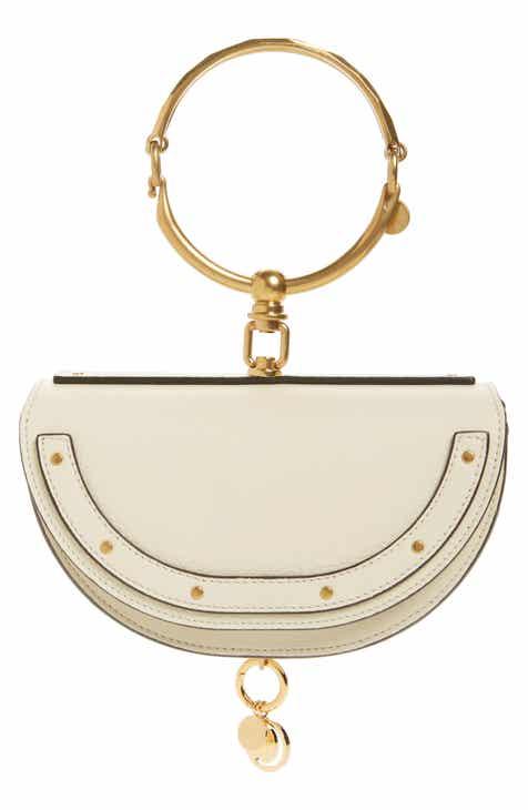 21d7f4ff20f66 Chloé Small Nile Bracelet Calfskin Leather Minaudiere