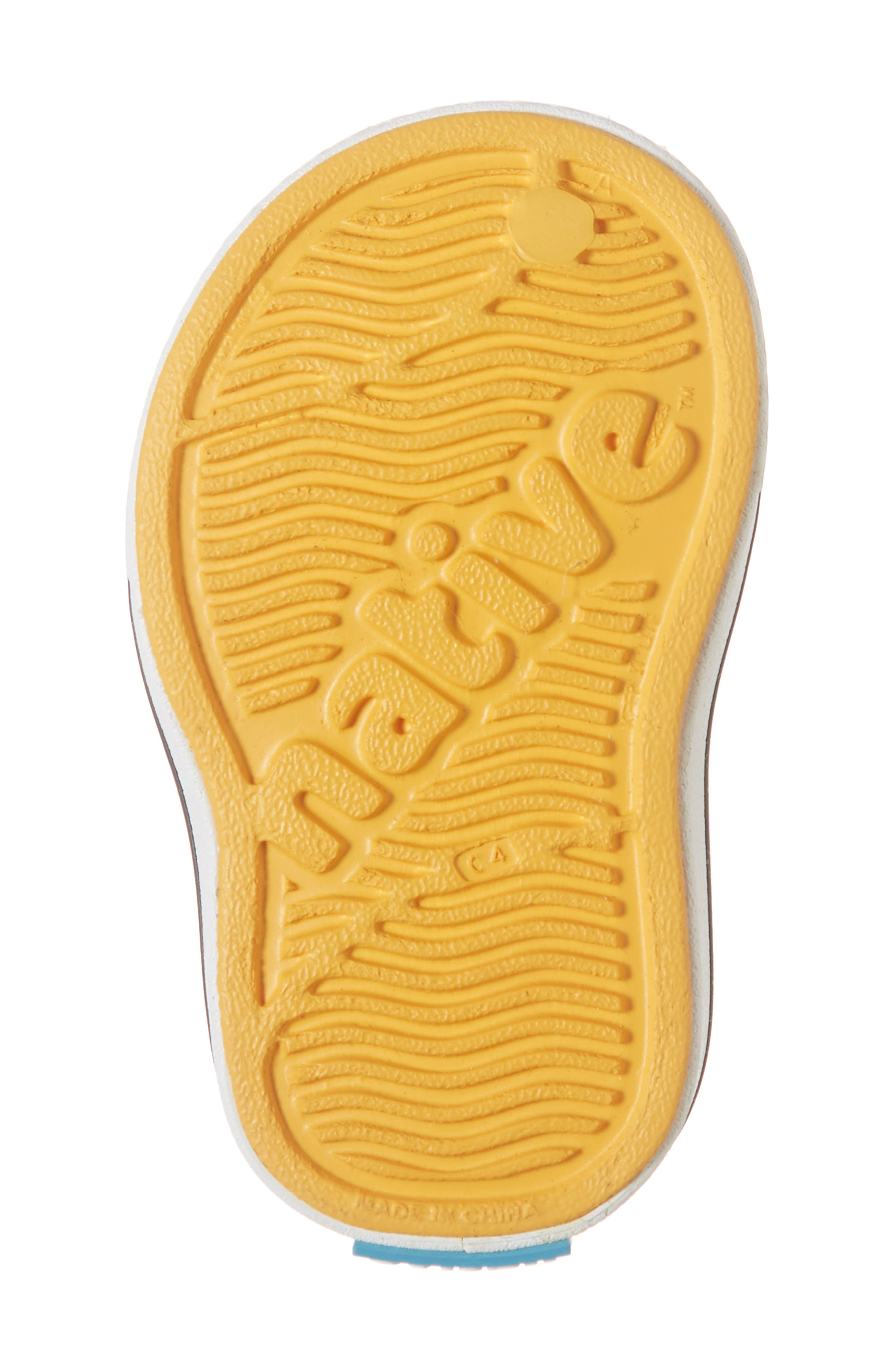 Miles Water Friendly Slip-On Sneaker,                             Alternate thumbnail 4, color,                             Beanie Yellow/ Shell White