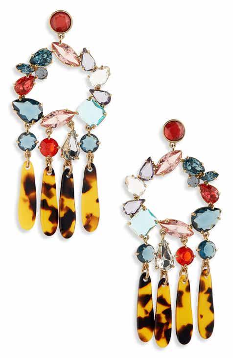 Chandelier earrings nordstrom jew crystal resin chandelier earrings aloadofball Image collections