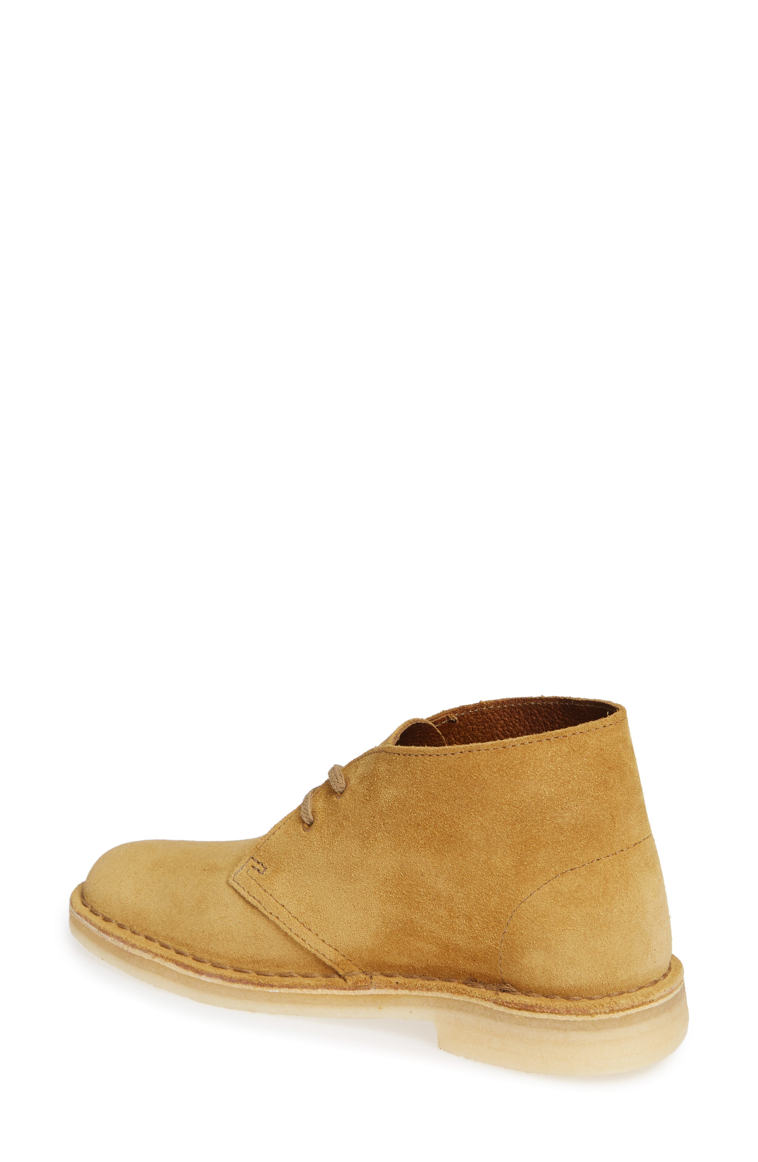 Desert Bootie,                             Alternate thumbnail 2, color,                             Oak Suede