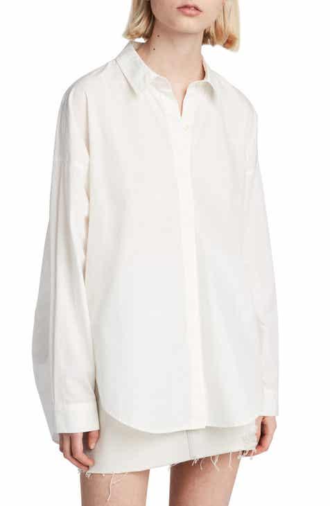 a95e67d37d ALLSAINTS Sada Oversize Button Down Shirt