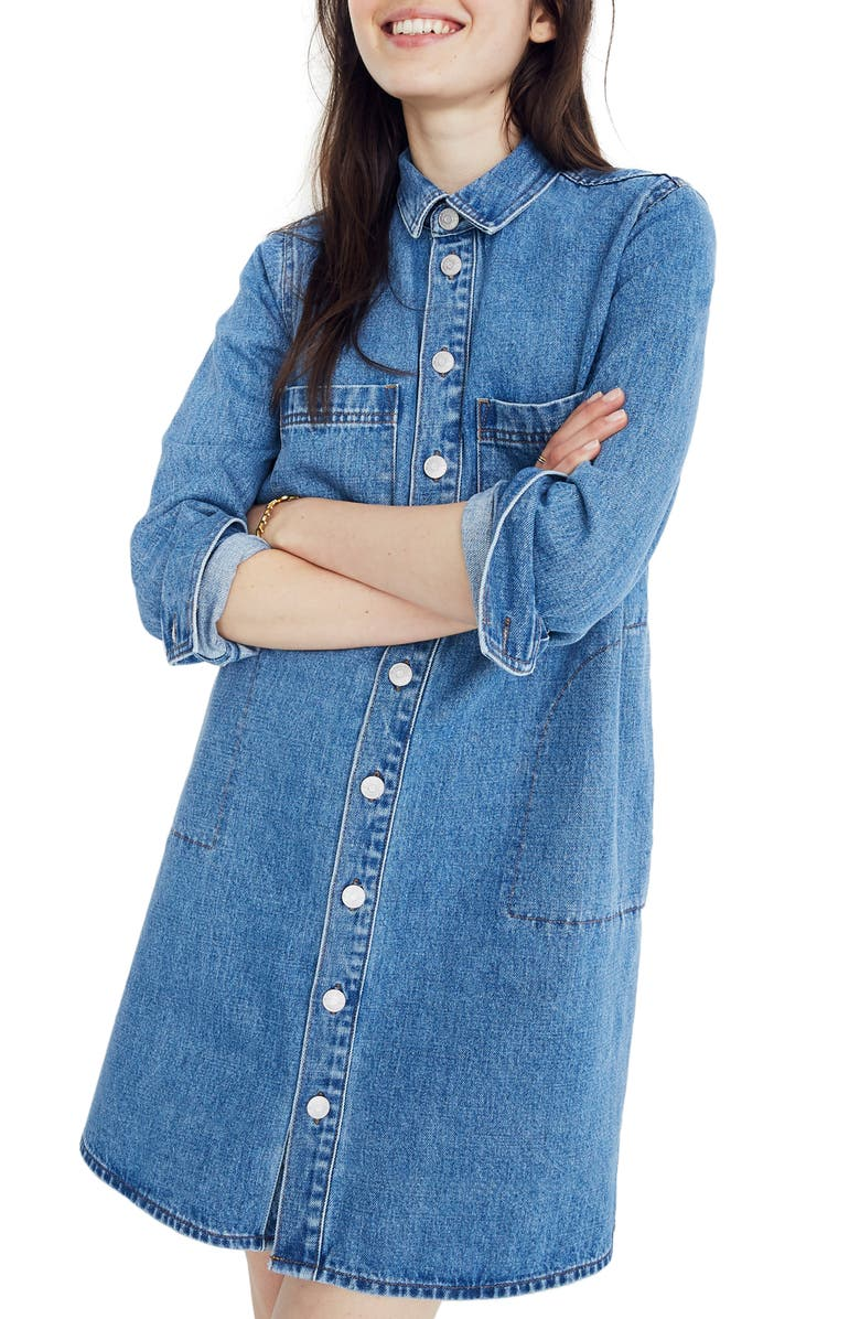 Denim Shirtdress