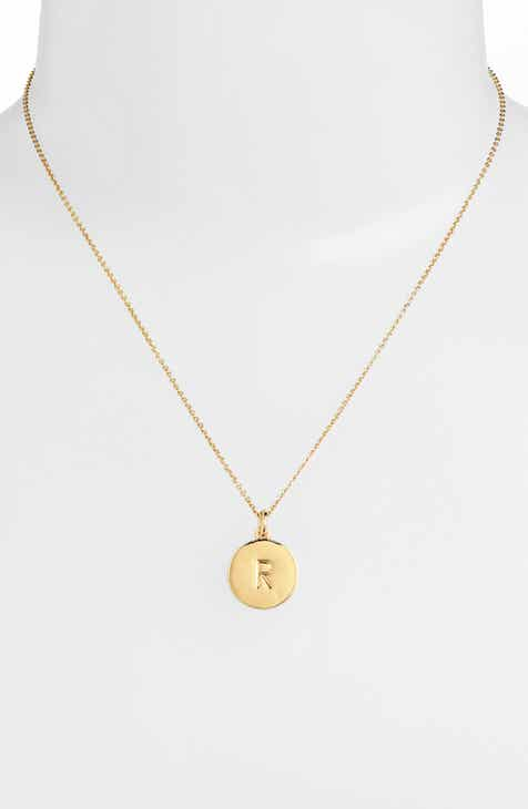 a3b08bd6d54 kate spade new york one in a million initial pendant necklace