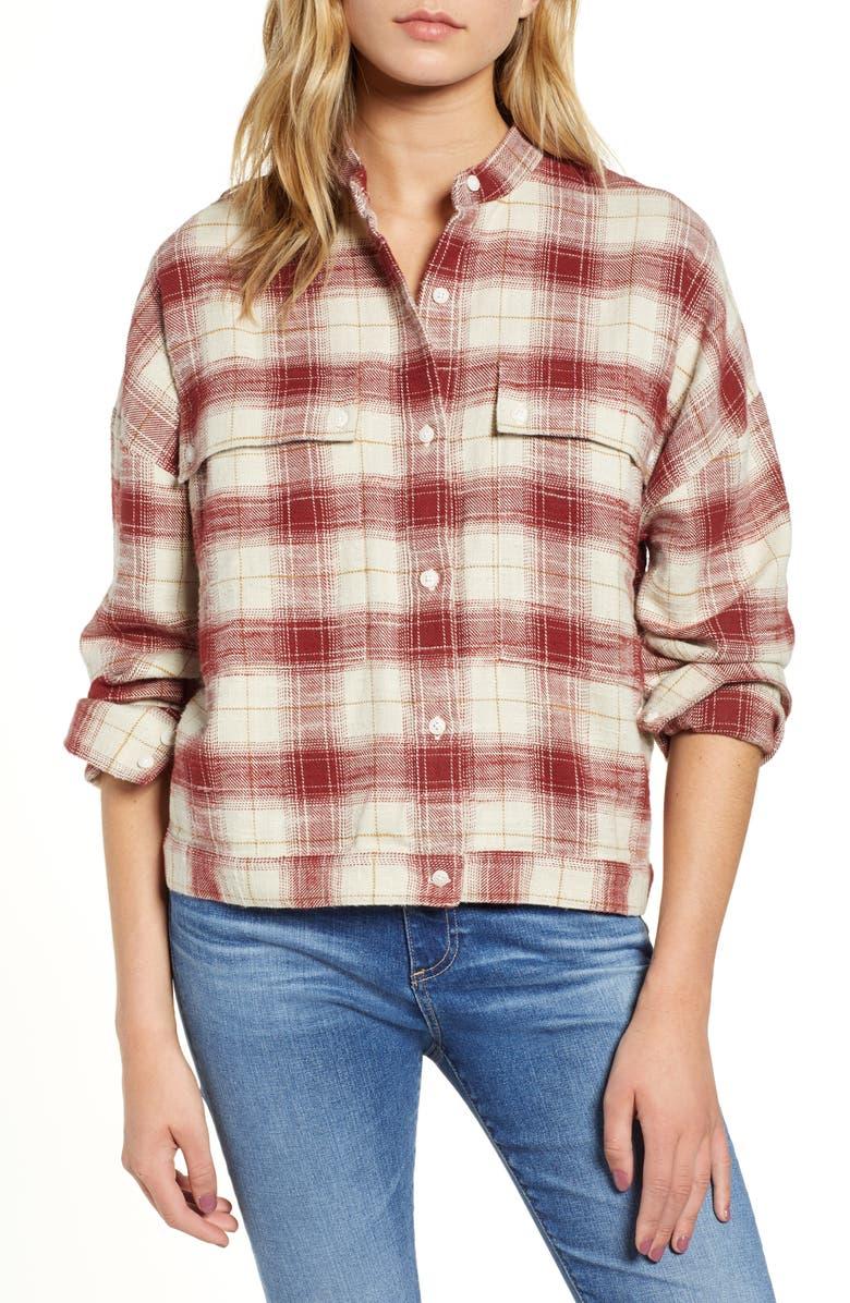 Smith Plaid Shirt Jacket